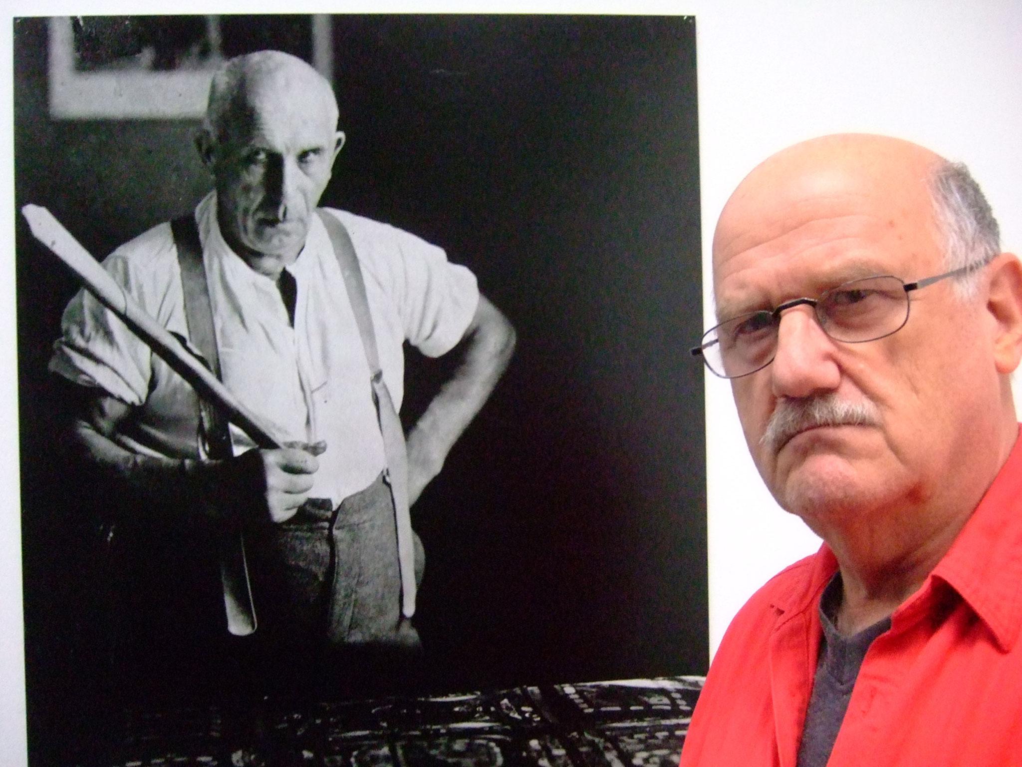Pedro Meier PhotoArt –»Adolf Wölfli trifft auf Pedro Meier« Kunstmuseum Bern Switzerland – »Selfie-Art-Project« – Photo 2014 © Pedro Meier Multimedia Artist / ProLitteris – Niederbipp – Bangkok