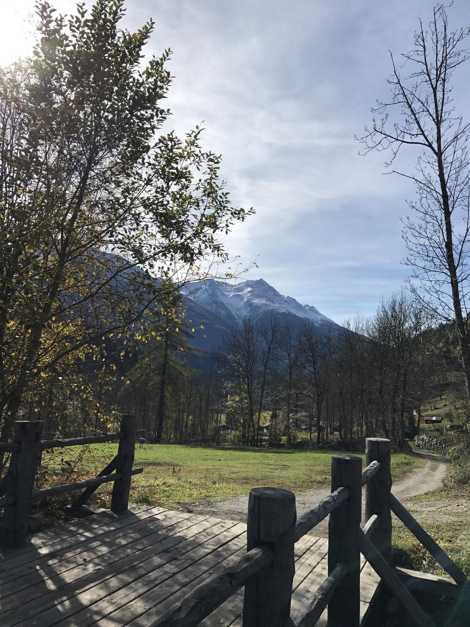 Wanderweg nach Fieschertal
