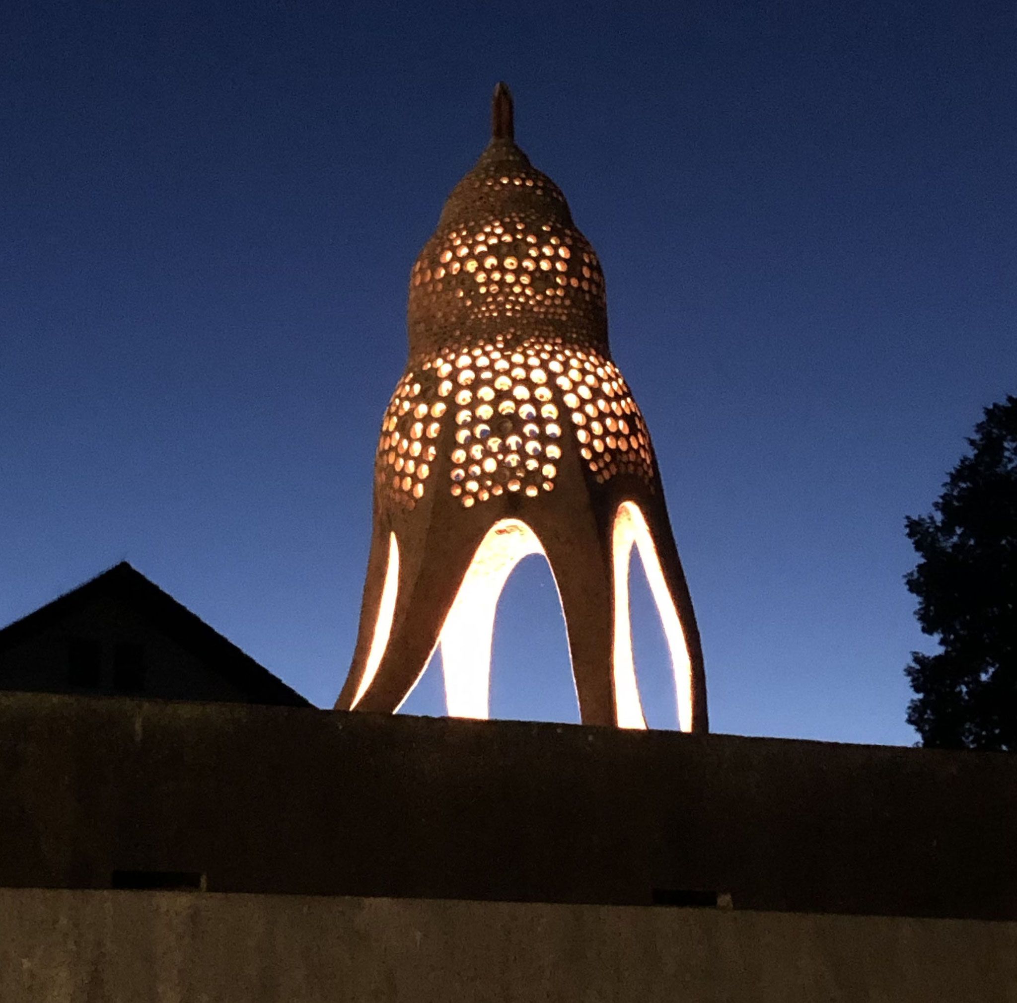 temple of evolution, Ausstellungsansicht