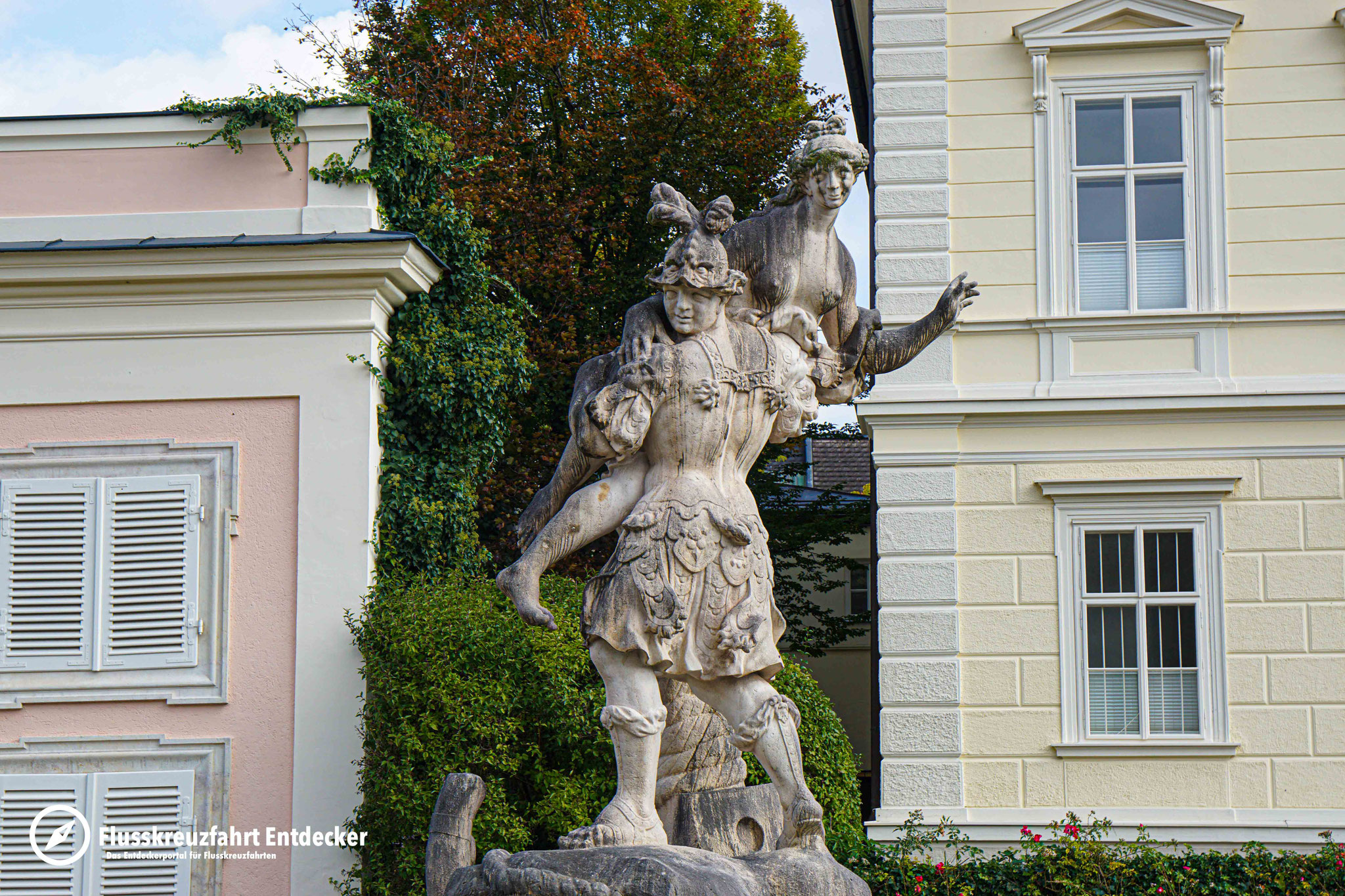 Der Mirabell-Garten in Salzburg