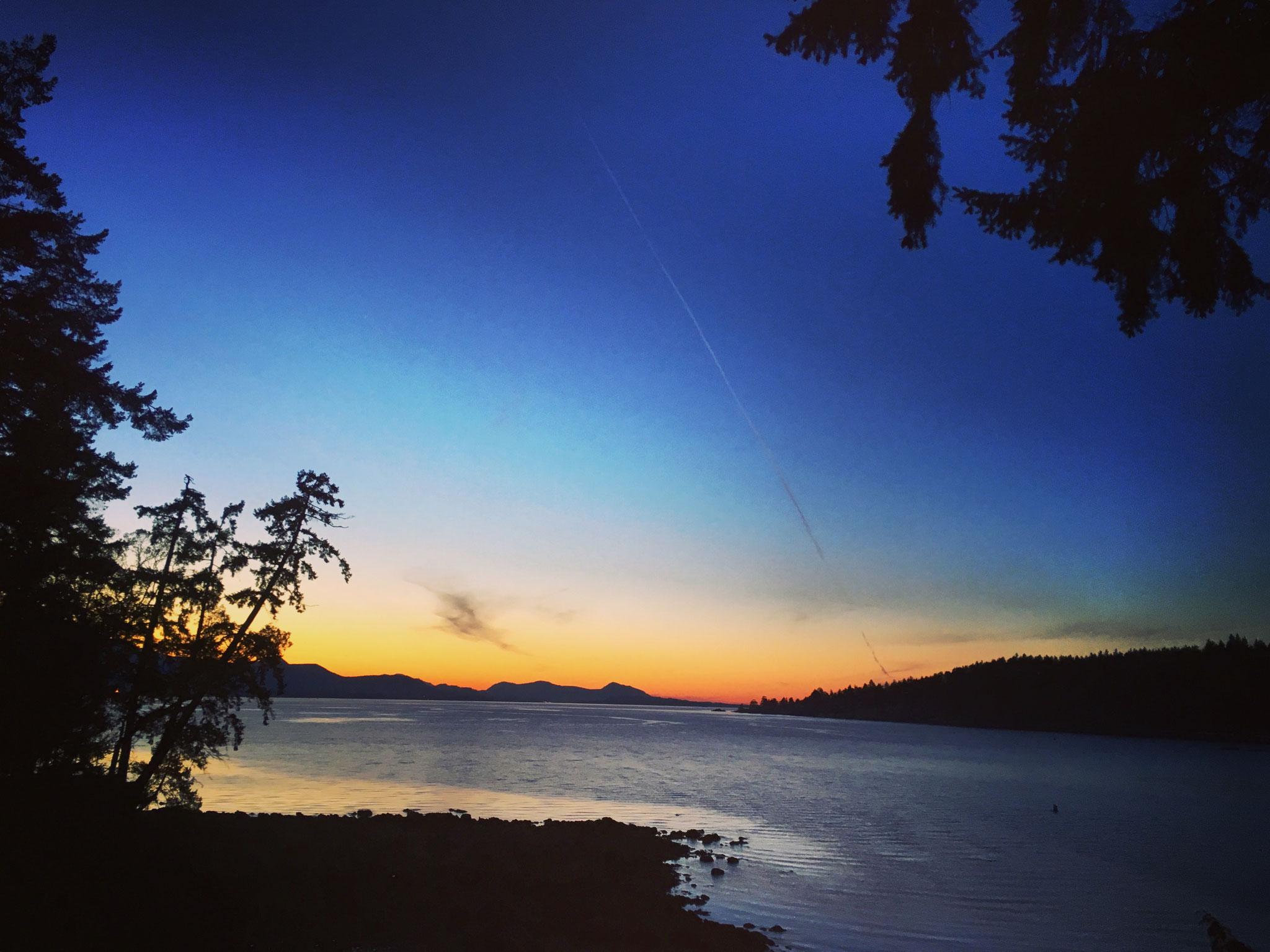 Bucht hinterm Haus, Saltspring Island, BC 2016