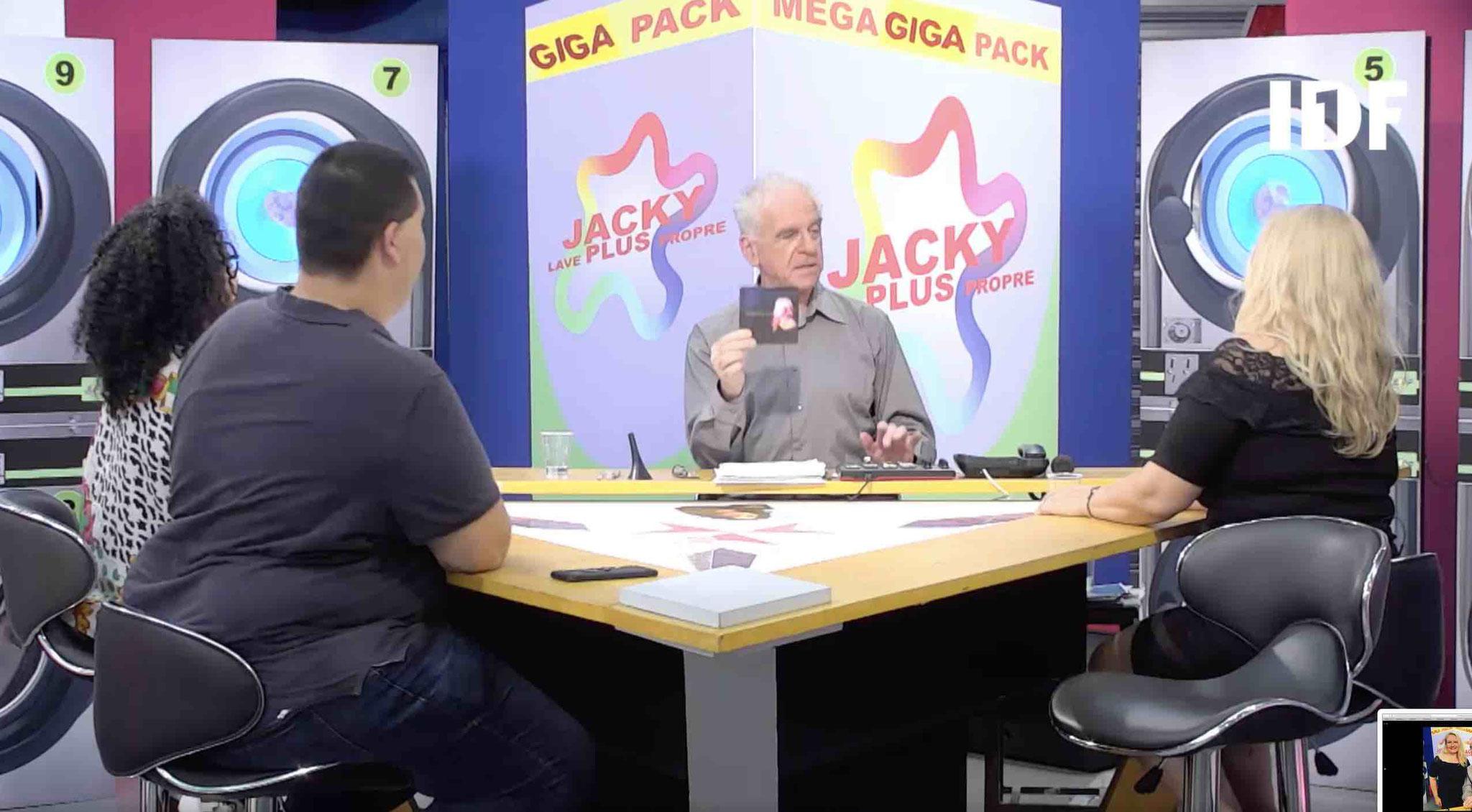 Présentation de mon CD par Jacky dans son émission JLPP sur la chaine IDF1