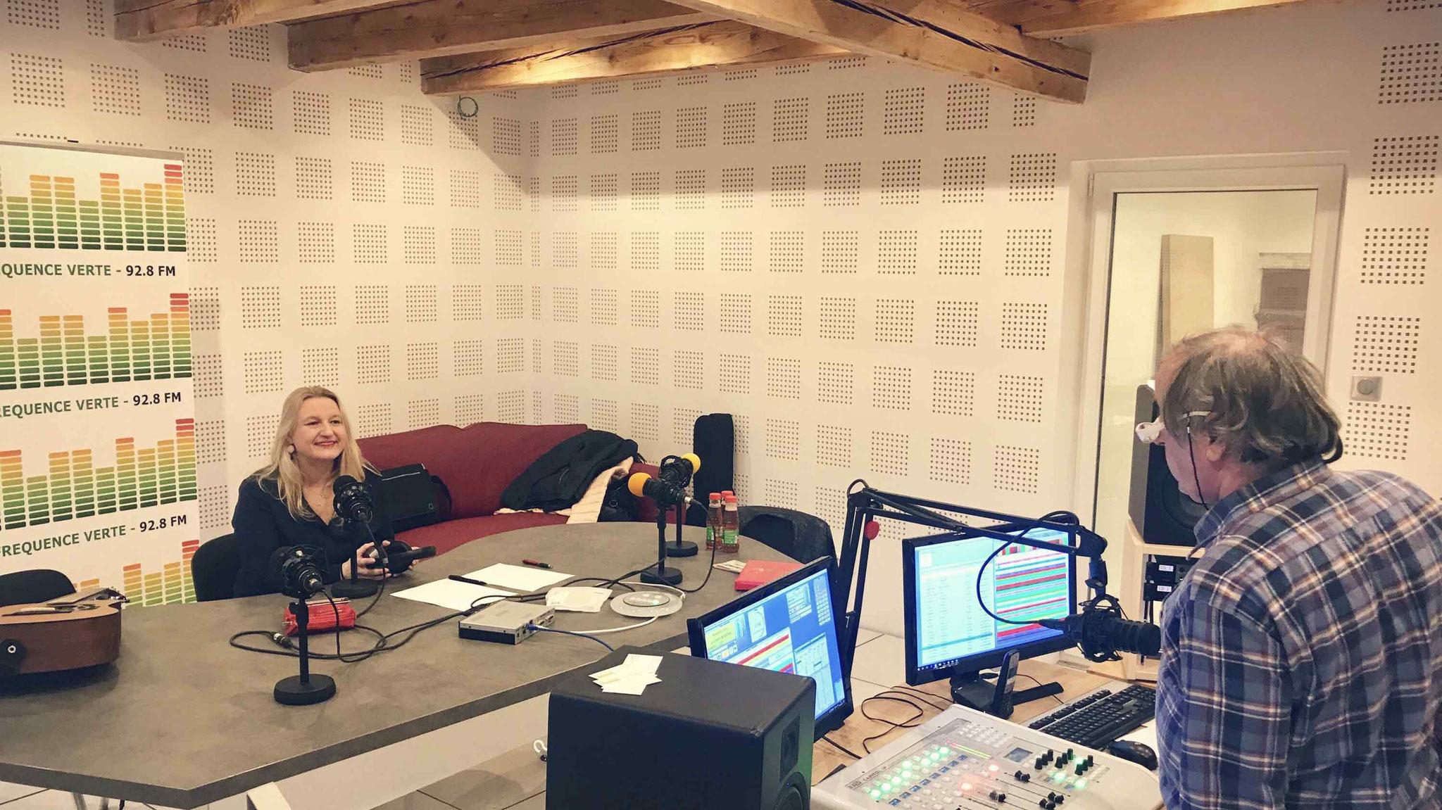 Interview Radio Fréquence Verte février 2019