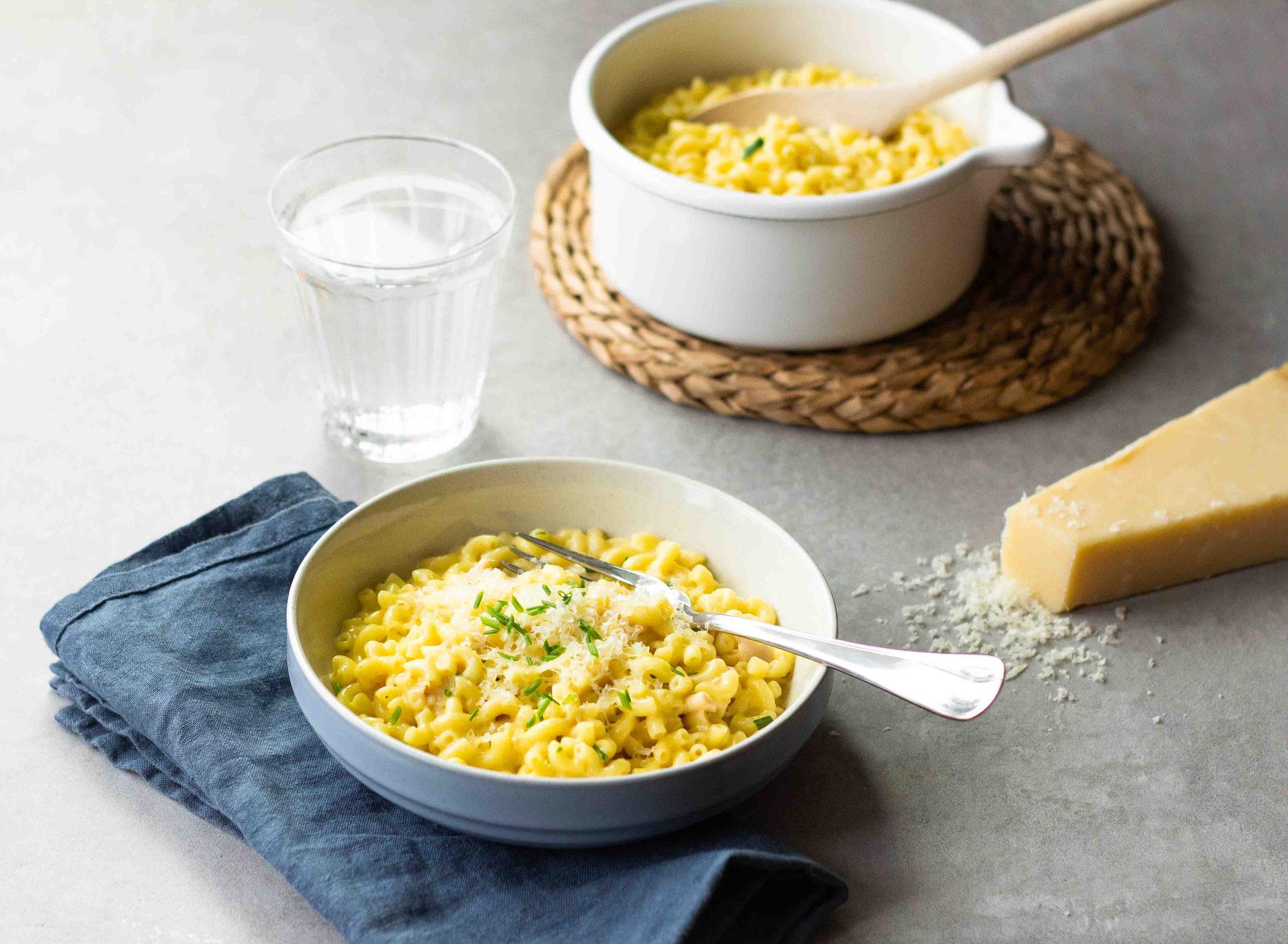 Coquillotto à la dinde et au fromage