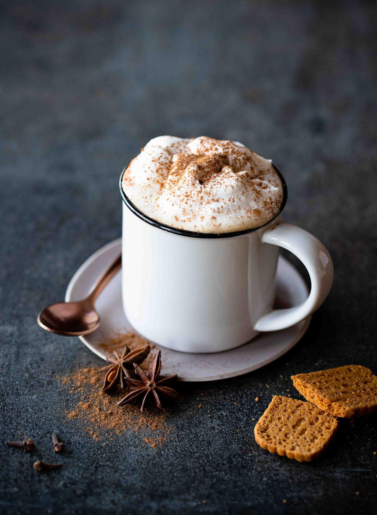 Chai latte : boisson chaude