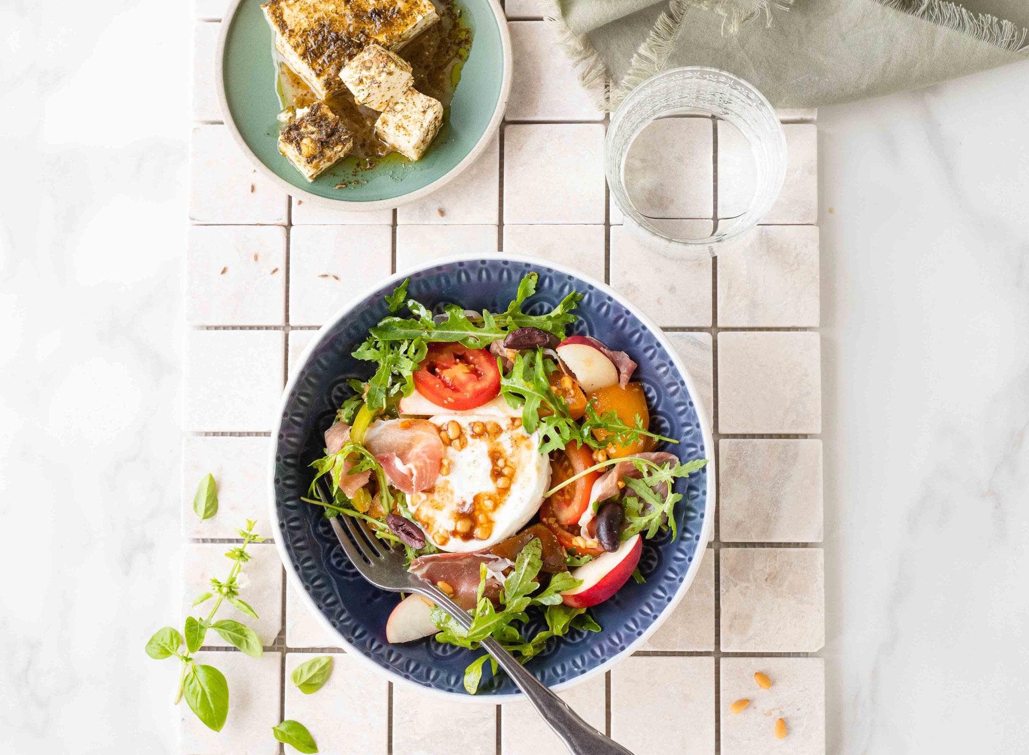 Comment composer une salade complète et équilibrée ?