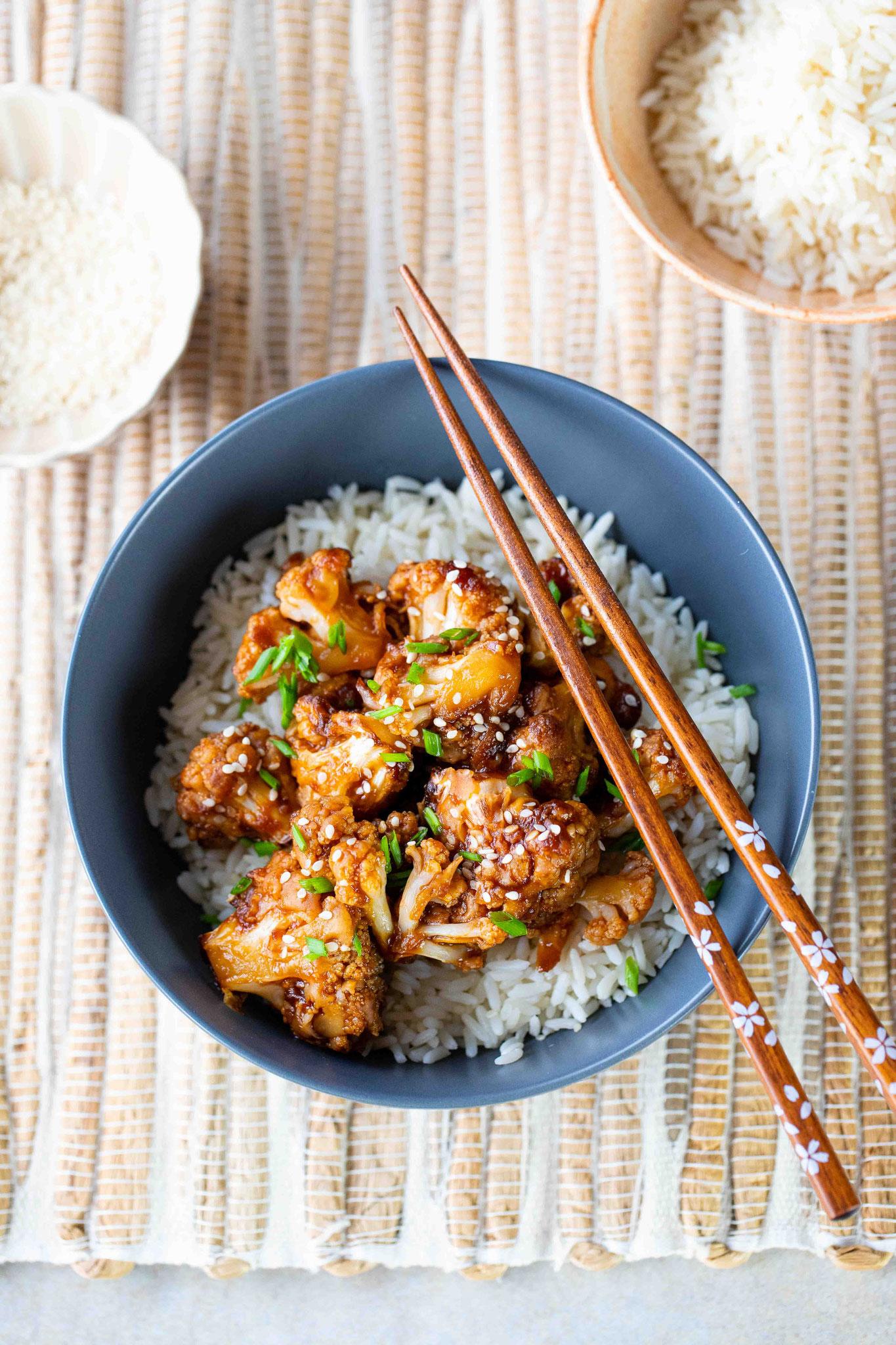 Recette de chou fleur : cuisine chinoise