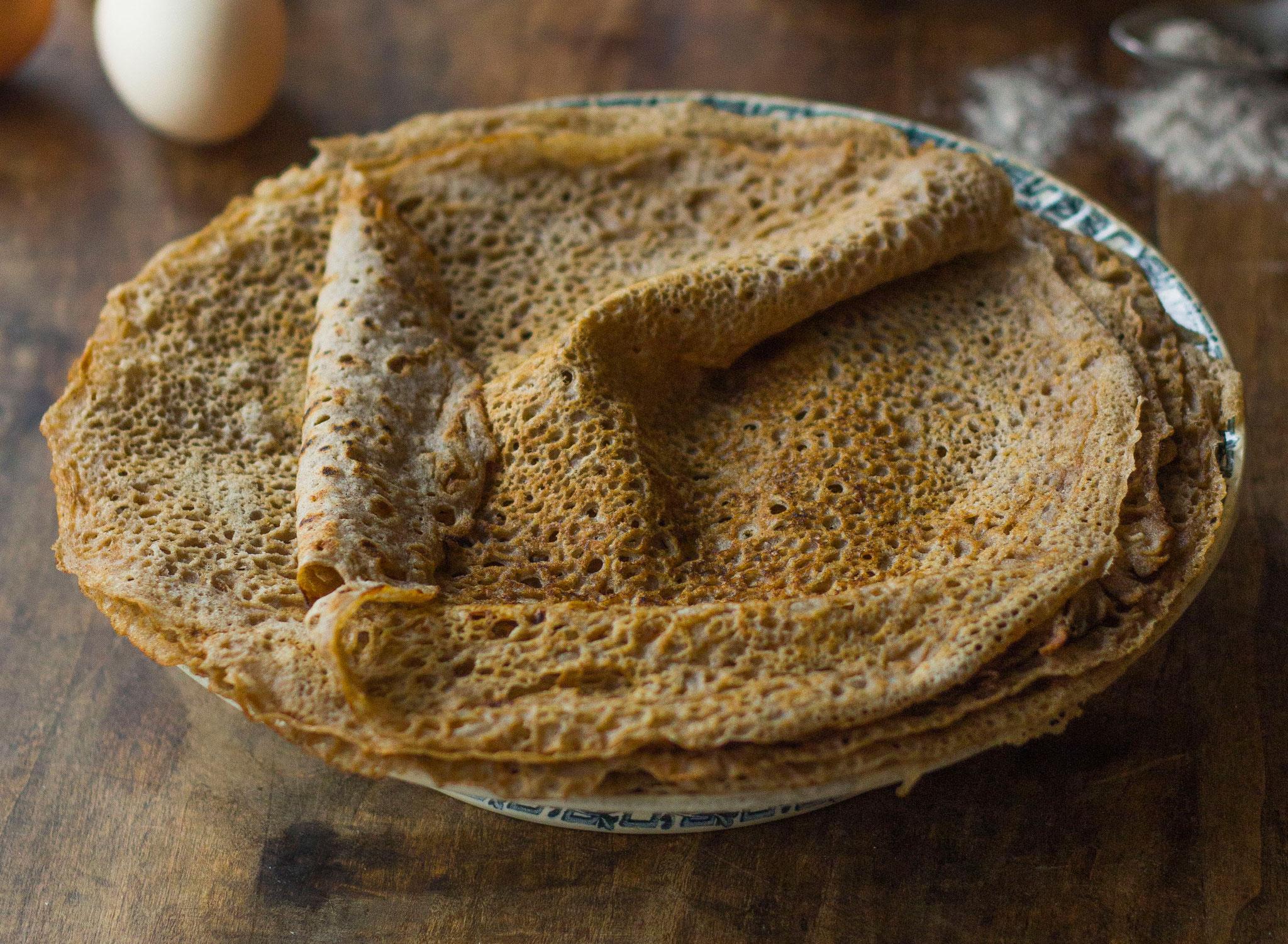 Galettes de blé noir (sarrasin)