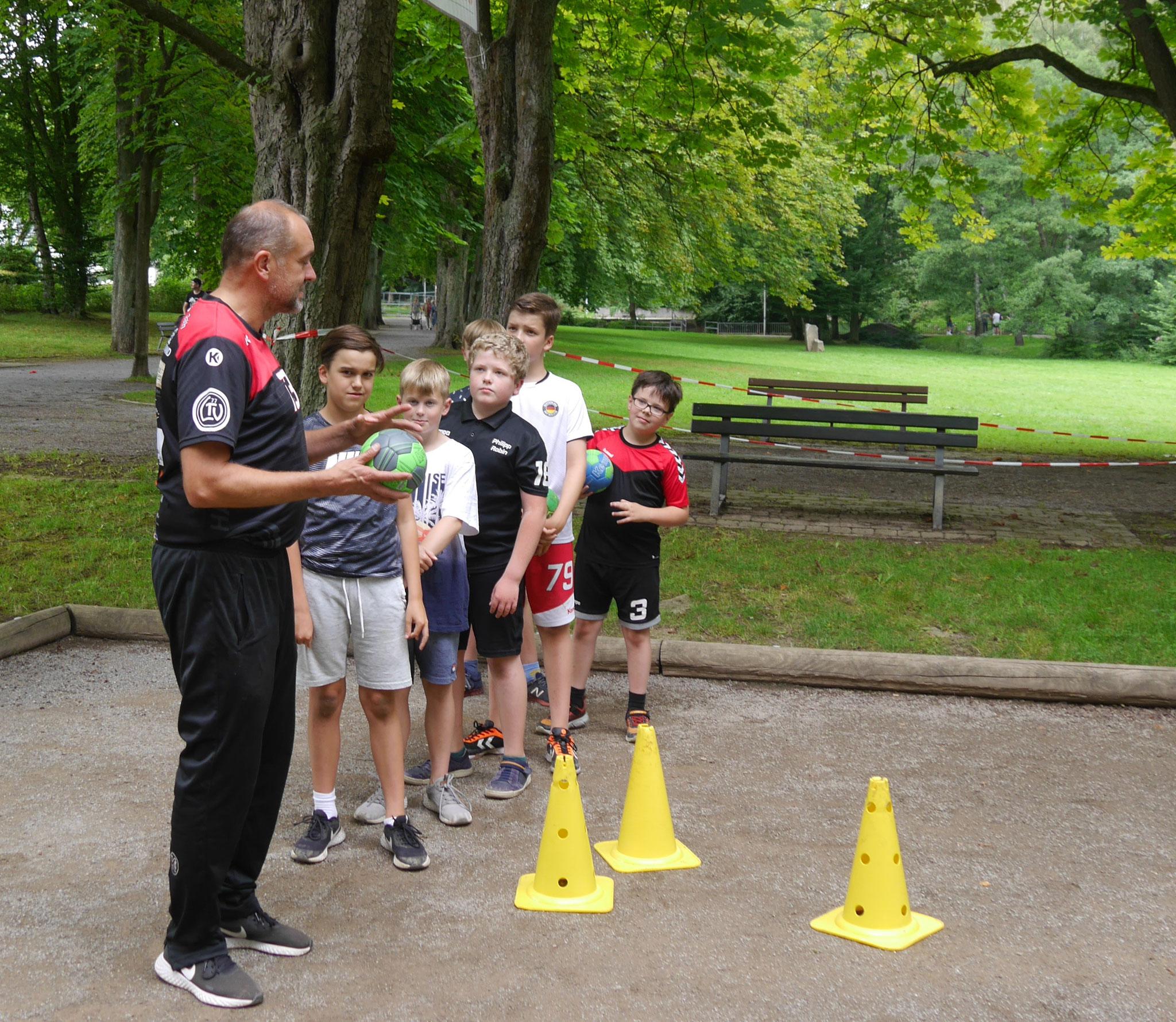 Handball für Kids