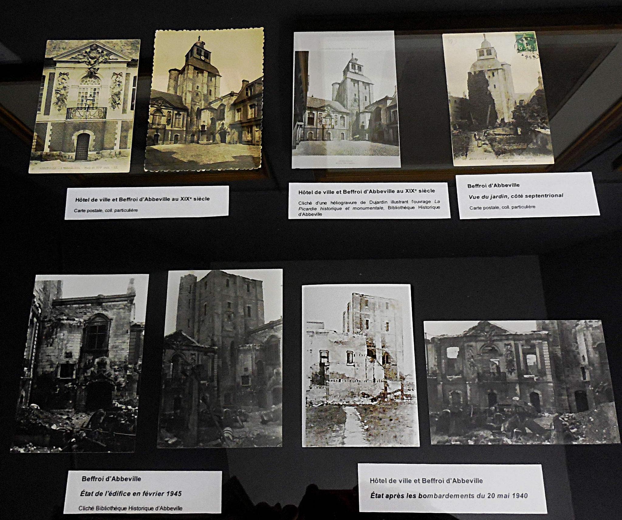 Différentes documents exposés au musée