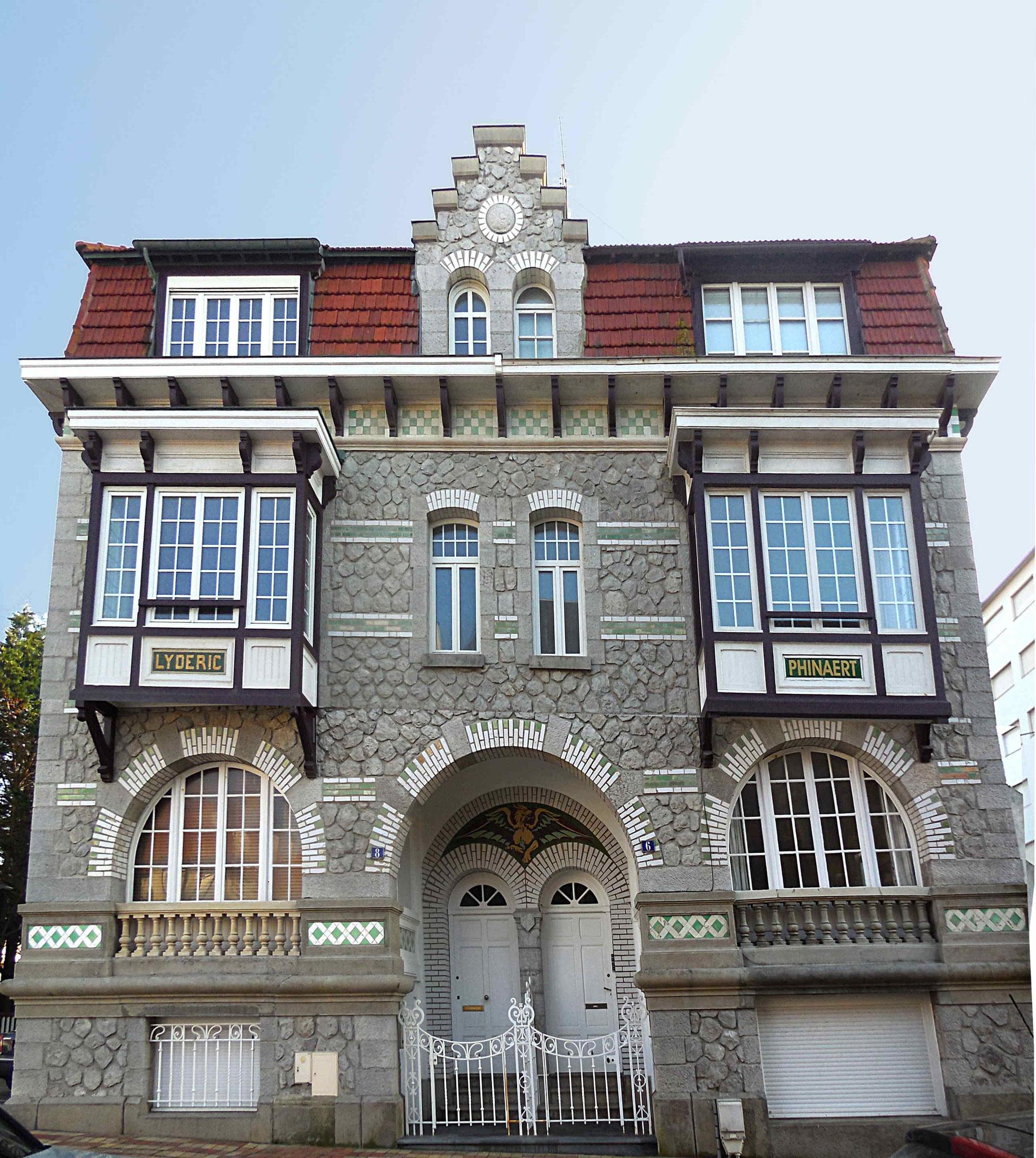 Villas Lydéric et Phinaert