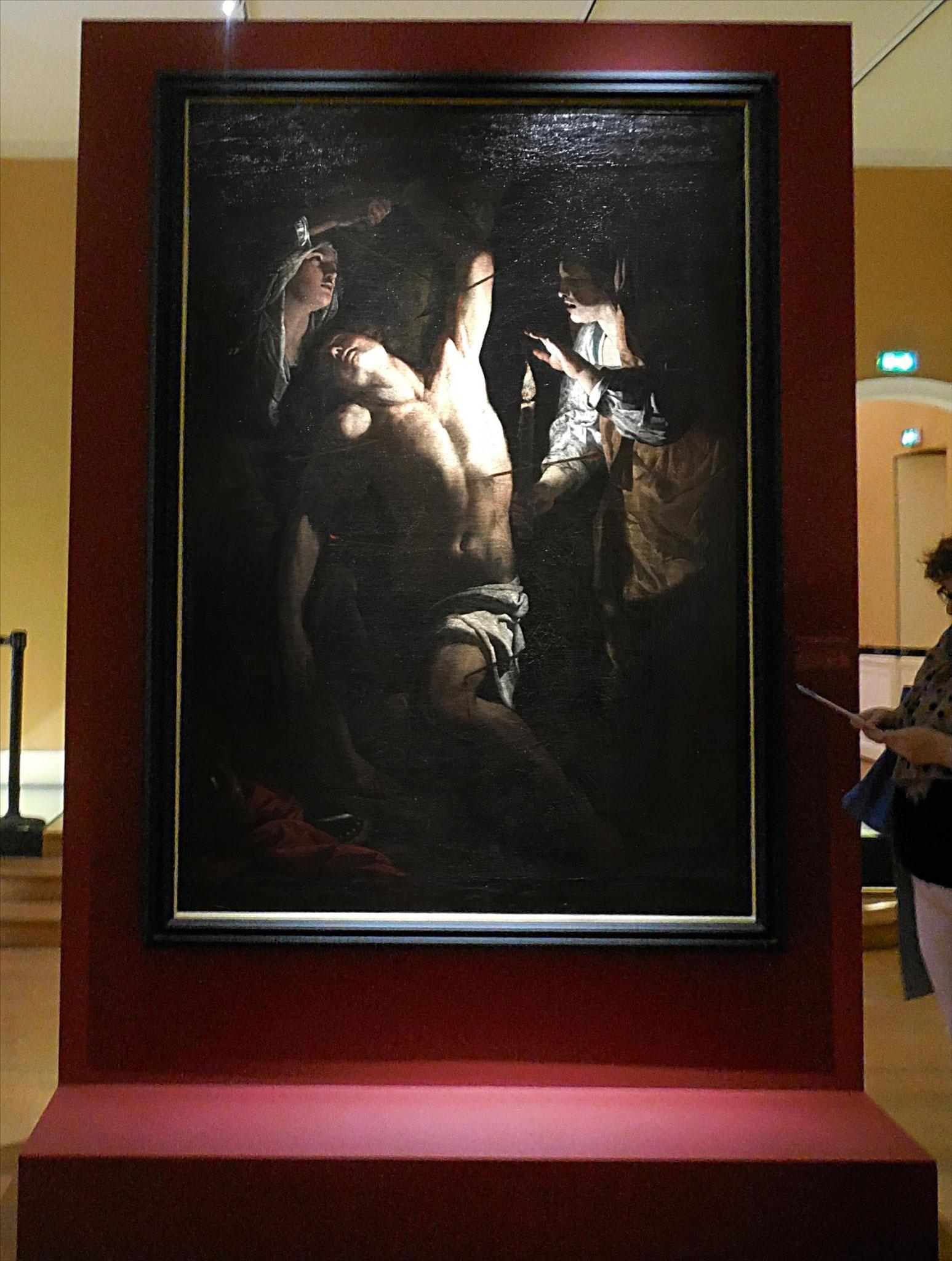 Rusticci Francesco, Saint Sébastien soigné par les saintes femmes, vers 1624 / Musée de Picardie, Amiens
