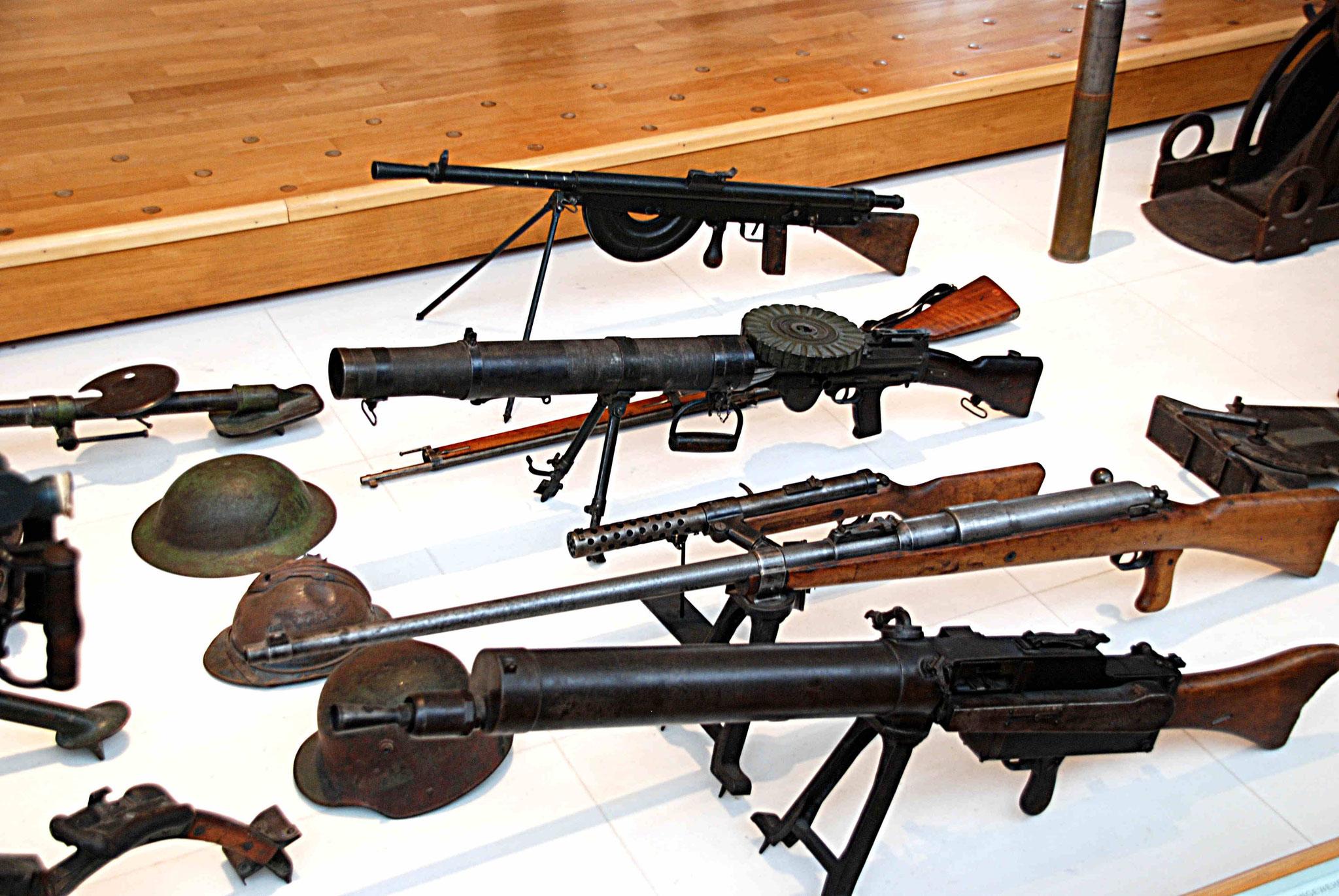 Armes et protections