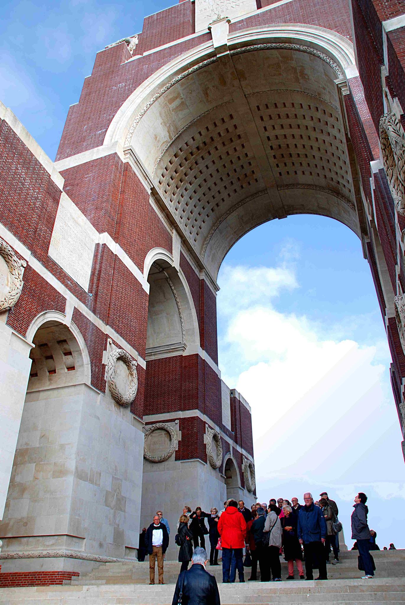 L'arche a 45 mètres de haut