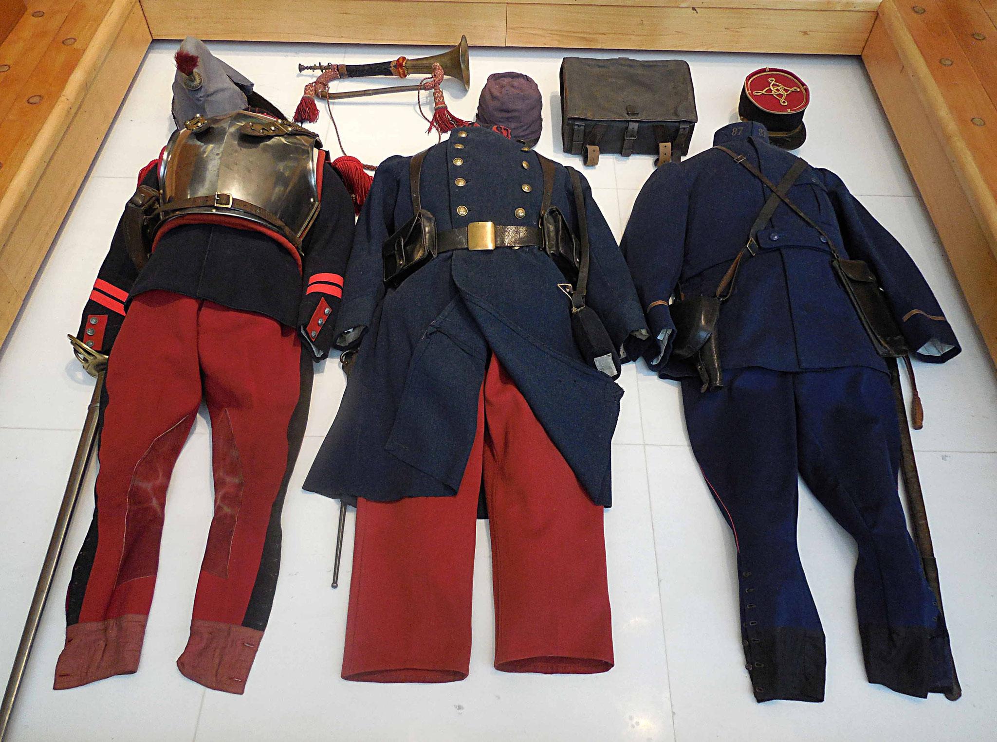 Premiers uniformes français