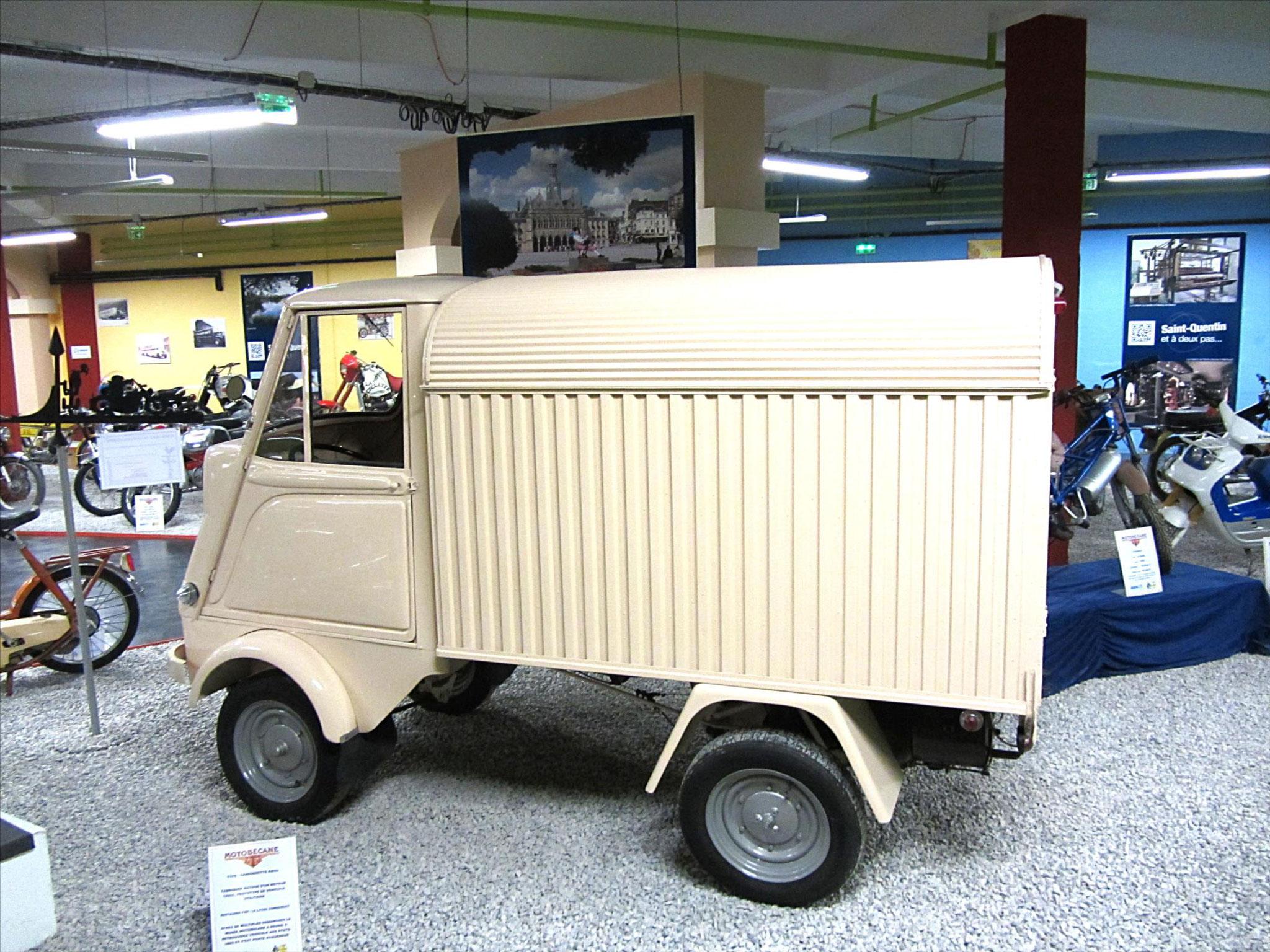 MBK prototype de véhicule utilitaire