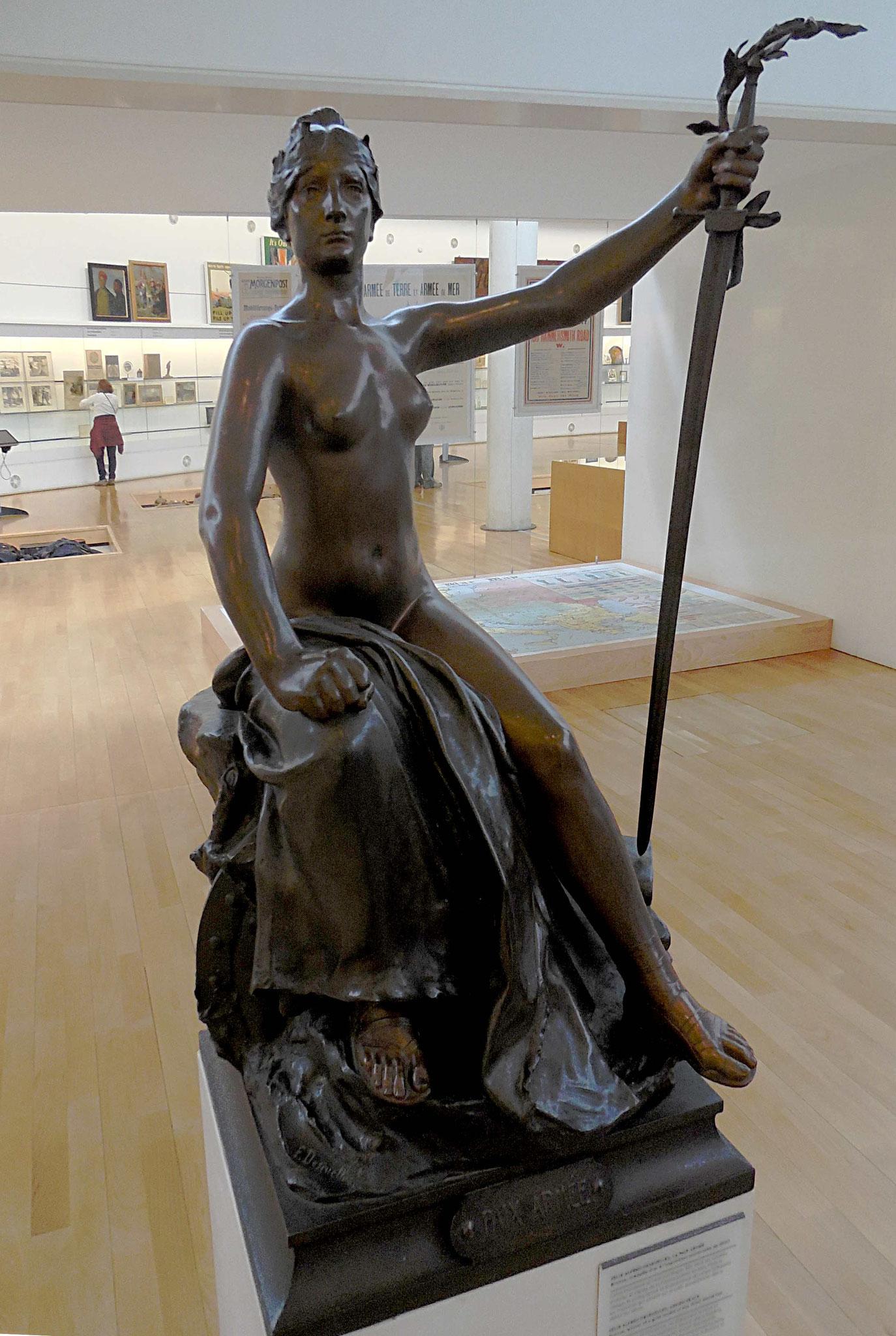 La paix armée, Félix-Alfred Desruelles, bronze, 1900