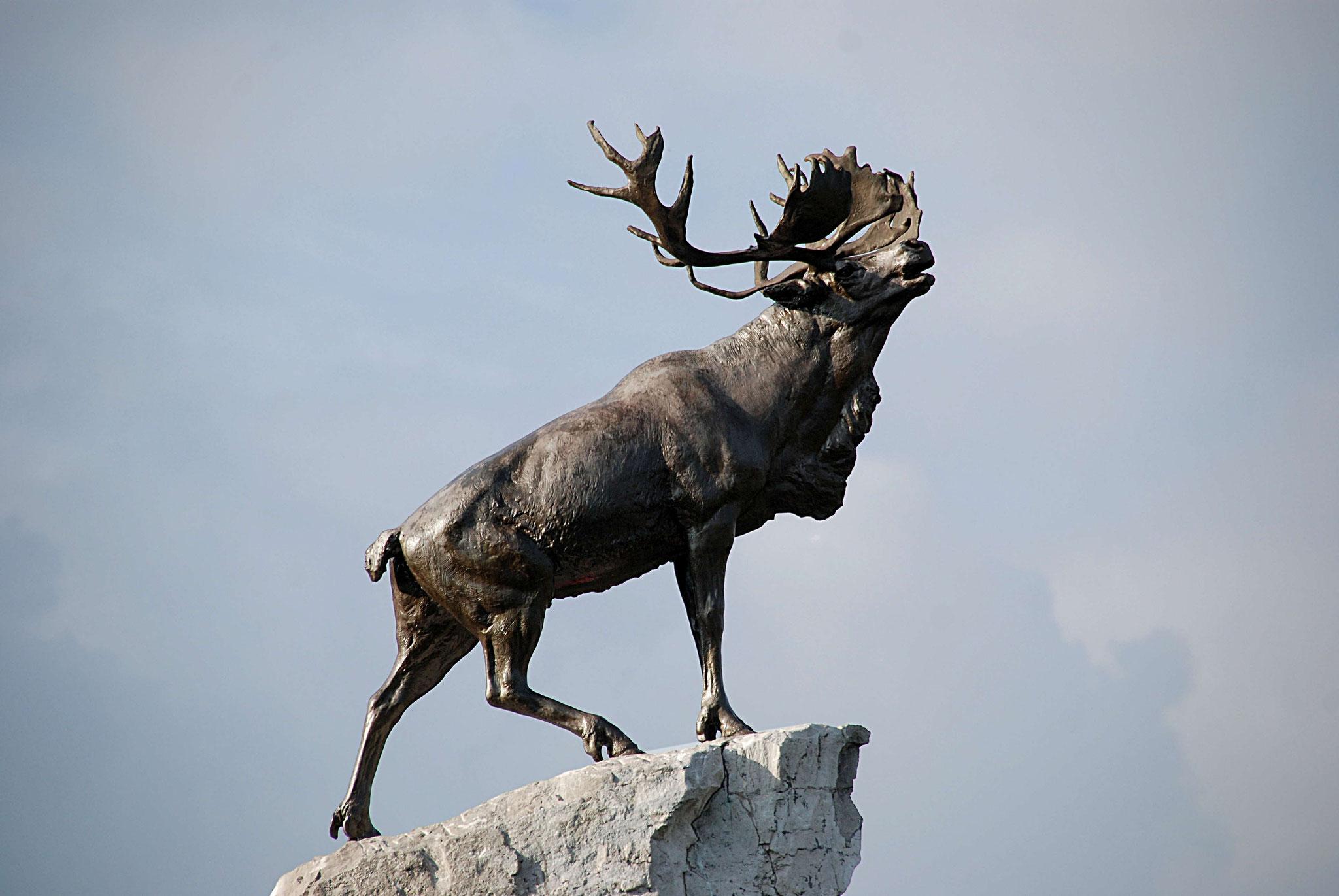 Le caribou terre-neuvien, bronze, Basil Gotto
