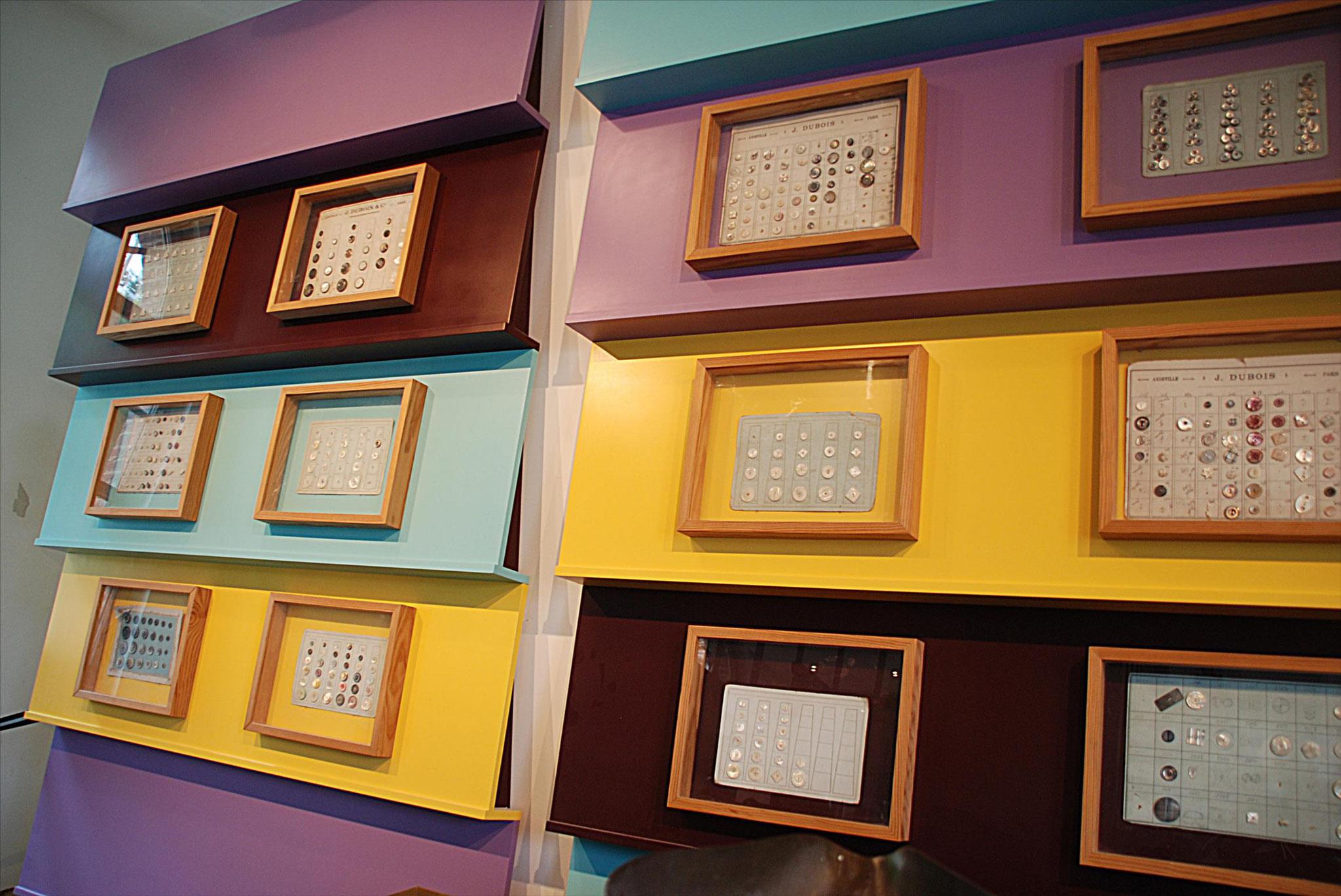 D'innombrables modèles de boutons sortaient des usines du Pays de Thelle
