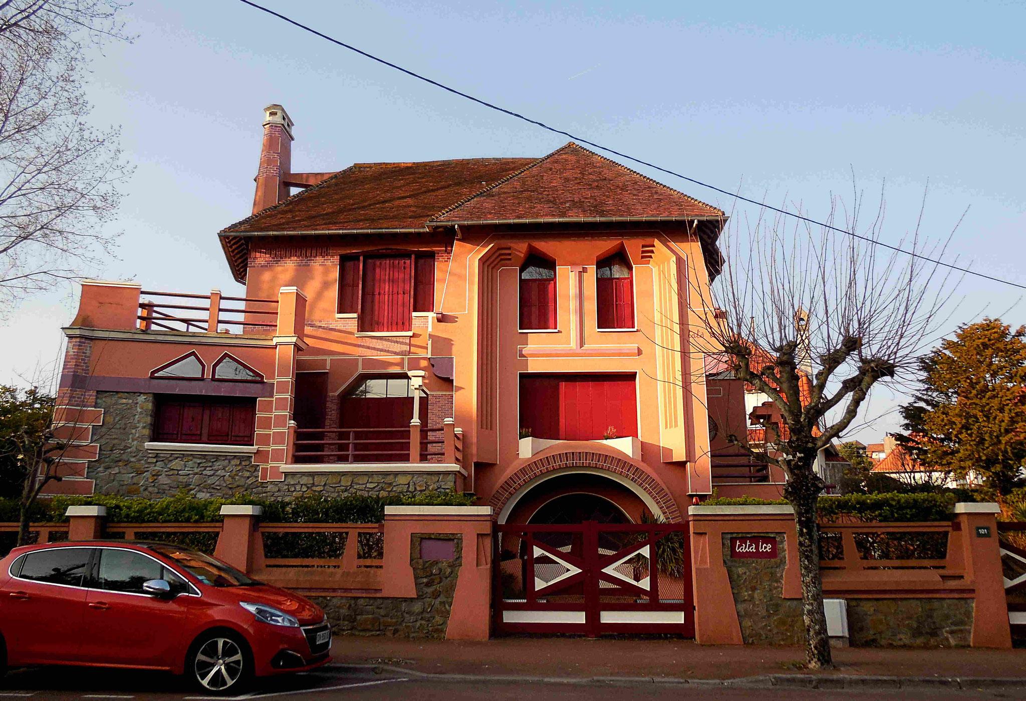 La villa Tata Ice, 1926