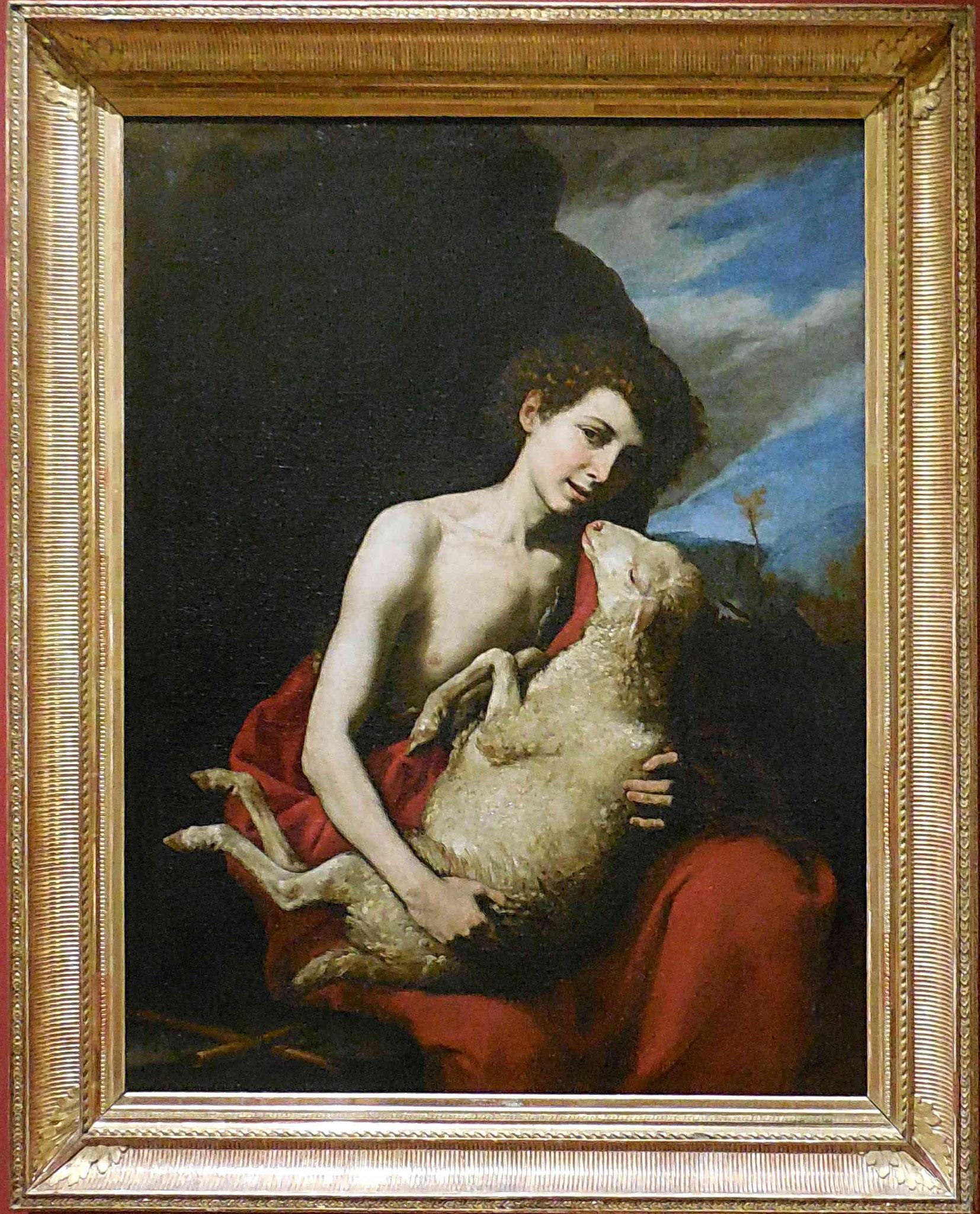 Jusepe de Ribera, Saint Jean Baptiste avec l'agneau, vers 1630 /