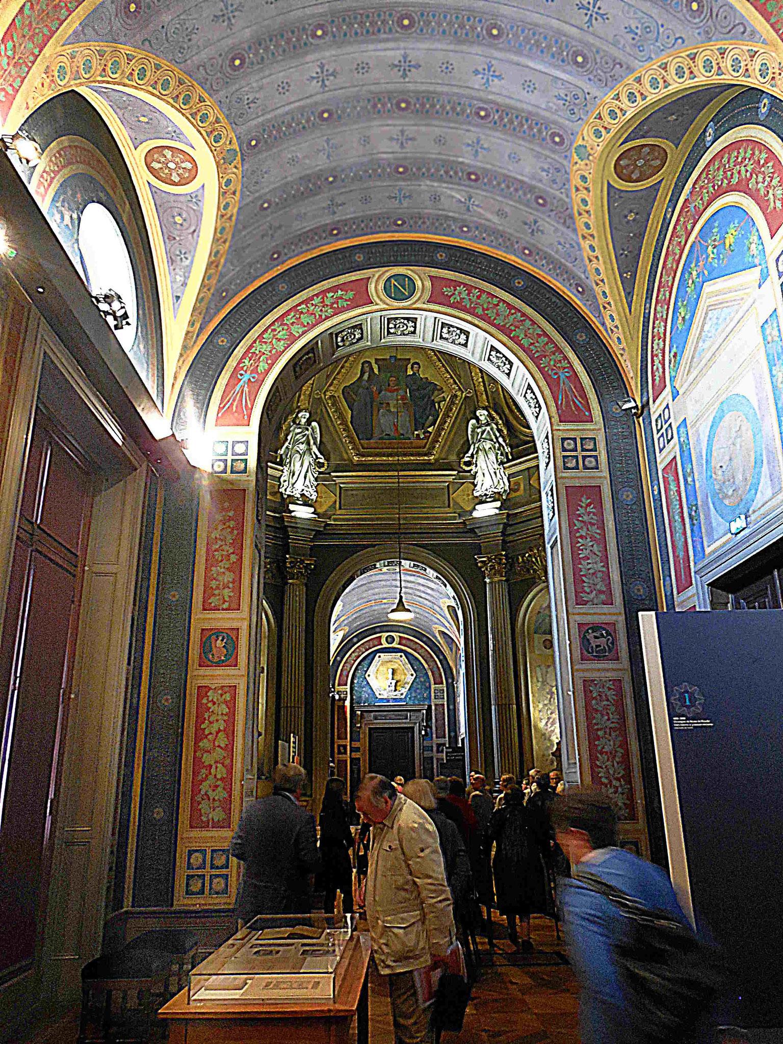 Galerie Puvis-de-Chavannes, vue partielle