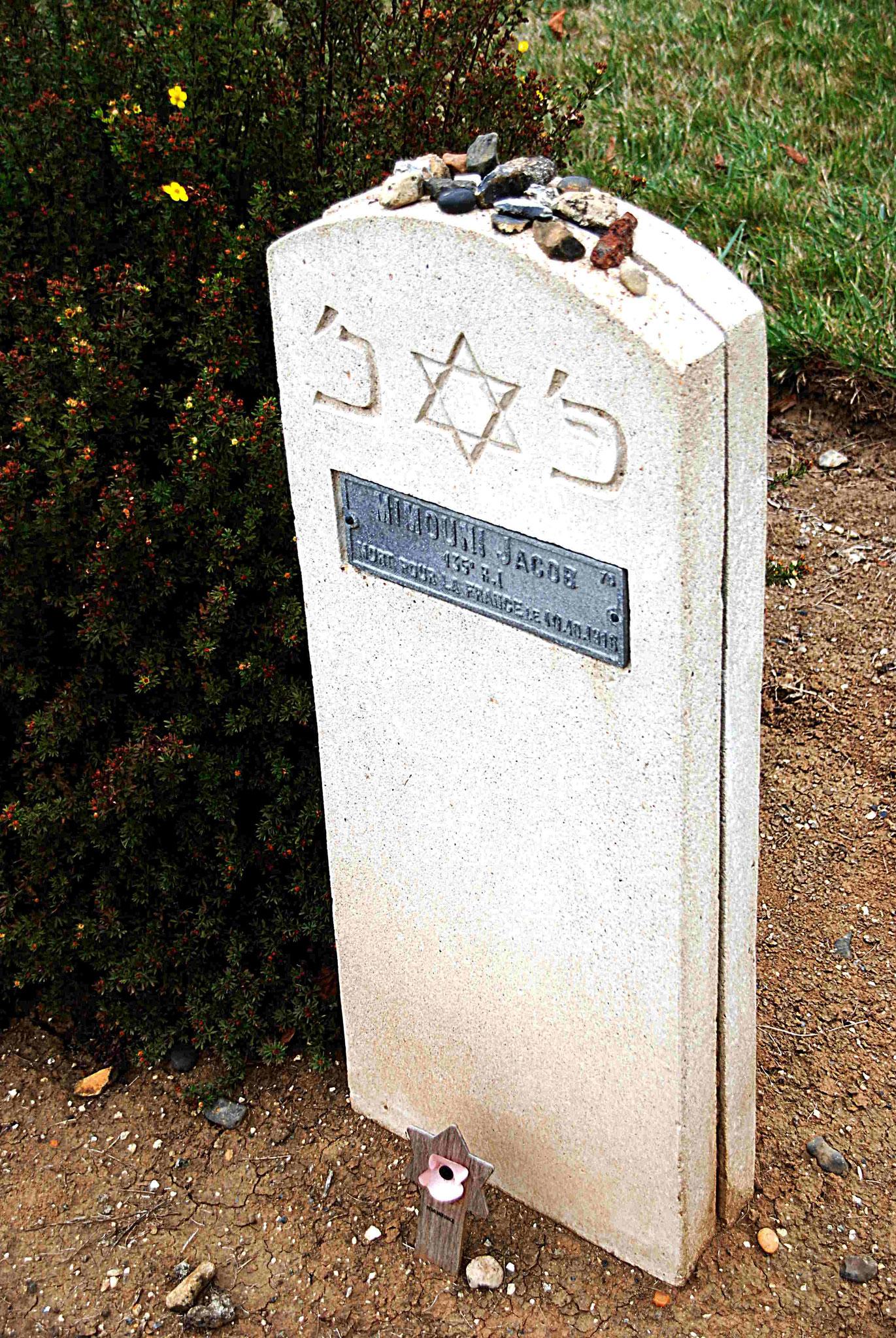 Stèle de Mimouni Jacob