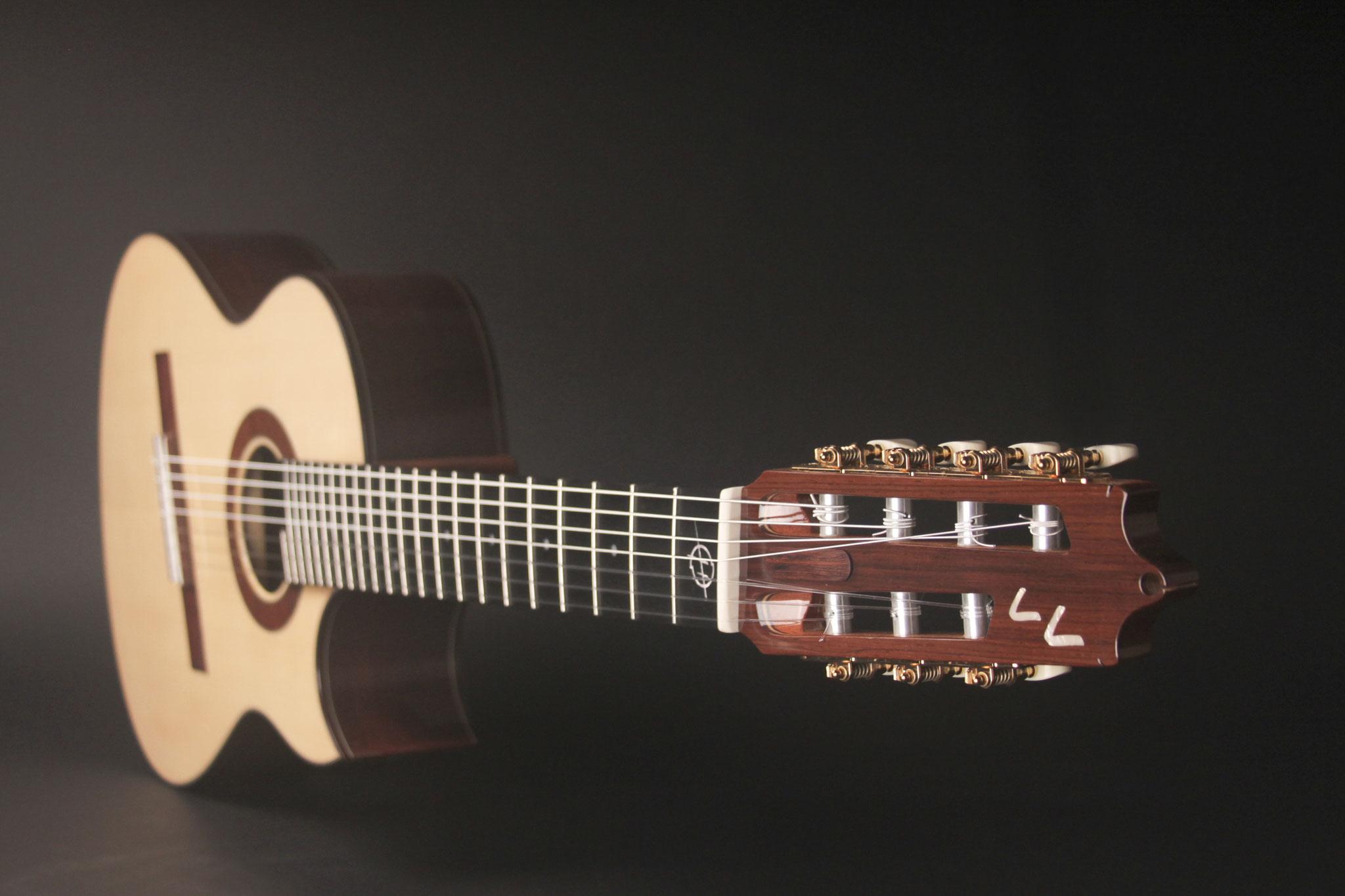 7-String multi-scale Geneva Model for Lionel Loueke