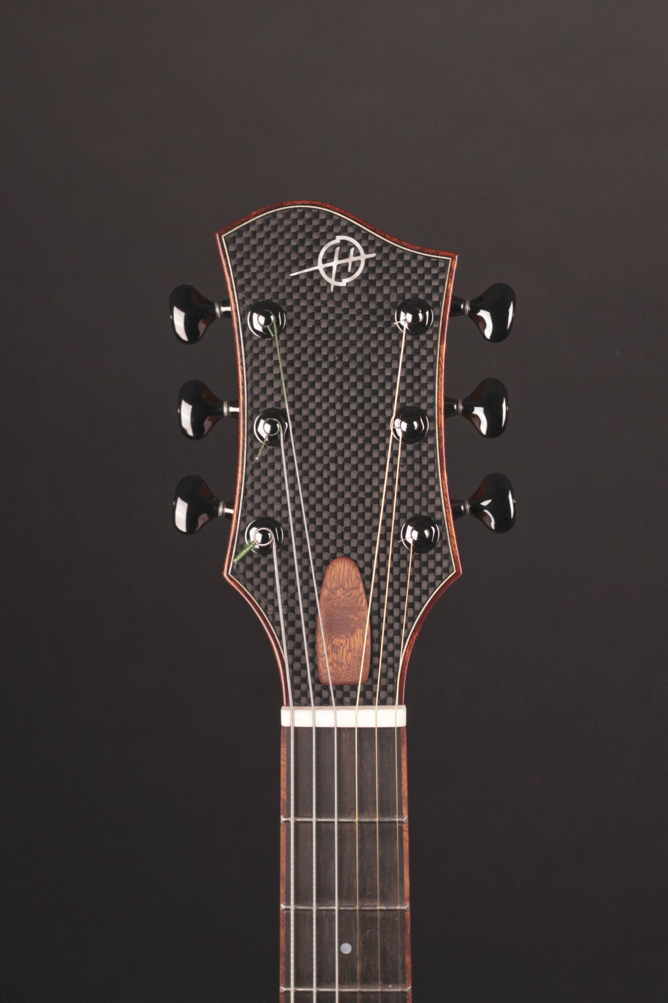 "16"" Montreux Model, carbon fiber headstock"