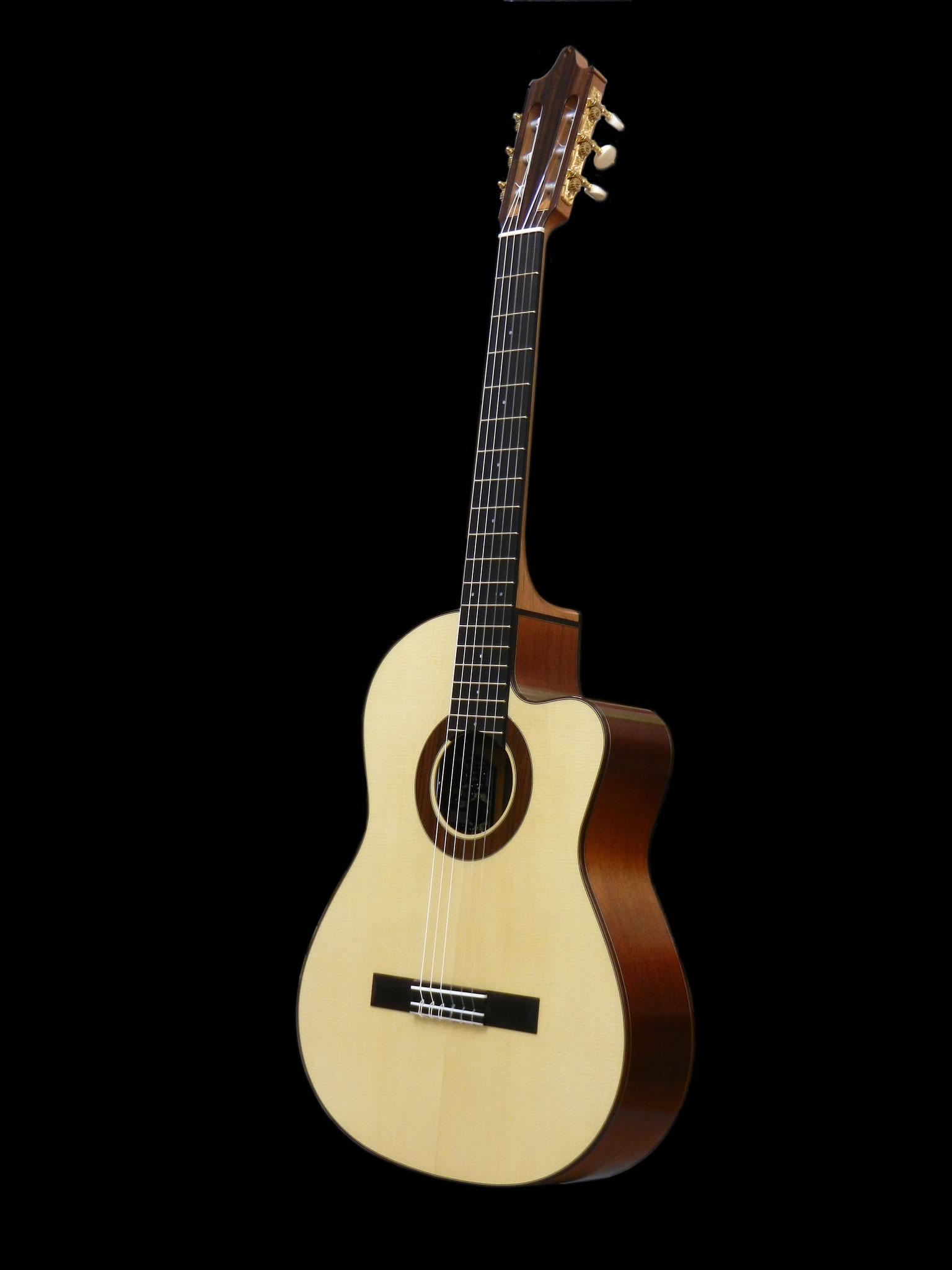 Spruce / Mahogany Geneva Model