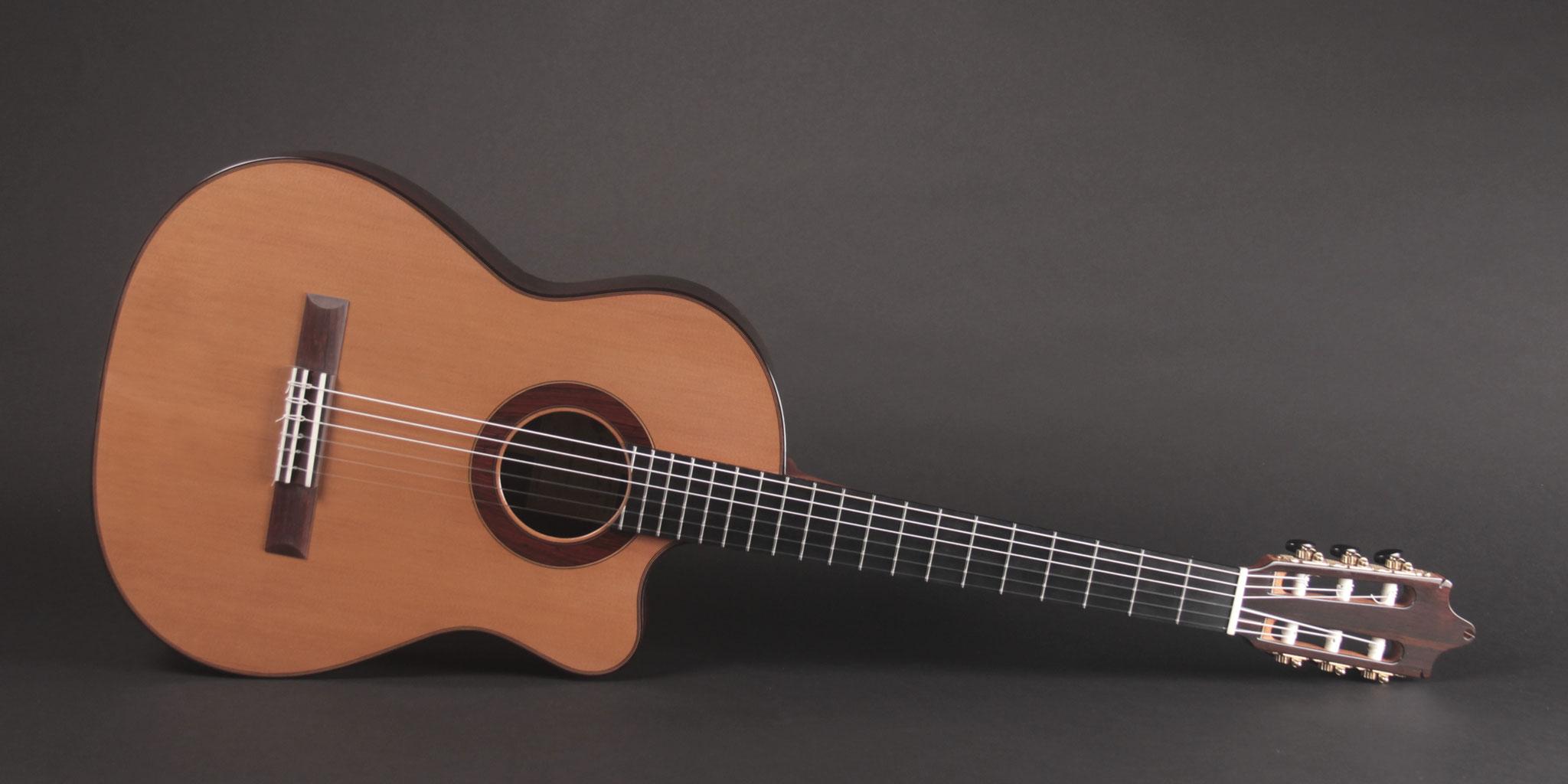 Western Red Cedar / Brazilian Rosewood Geneva Model