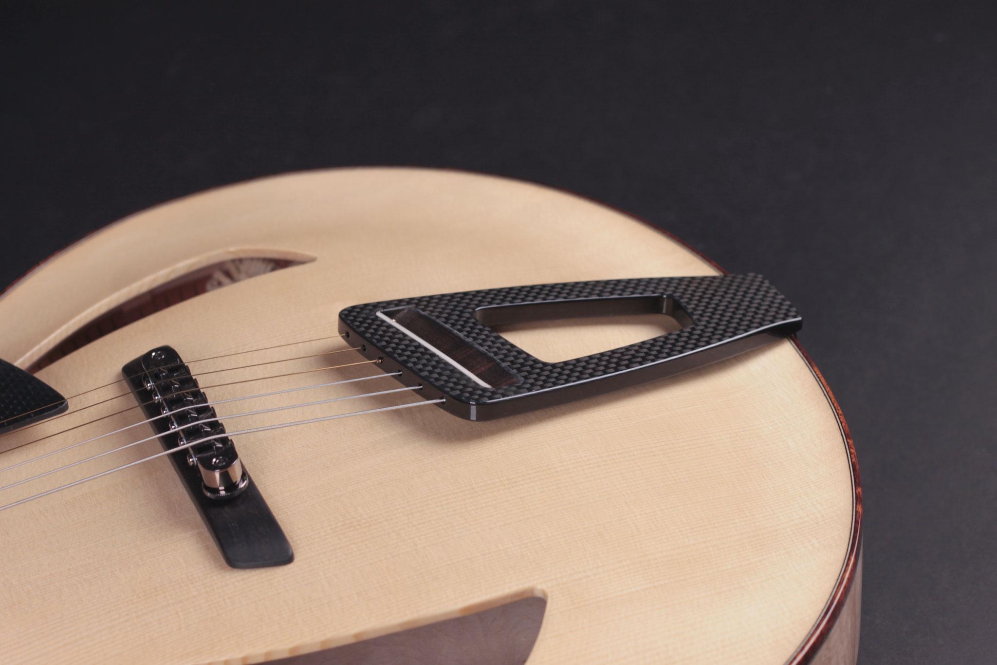 """16"""" Montreux Model, carbon fiber tailpiece"""
