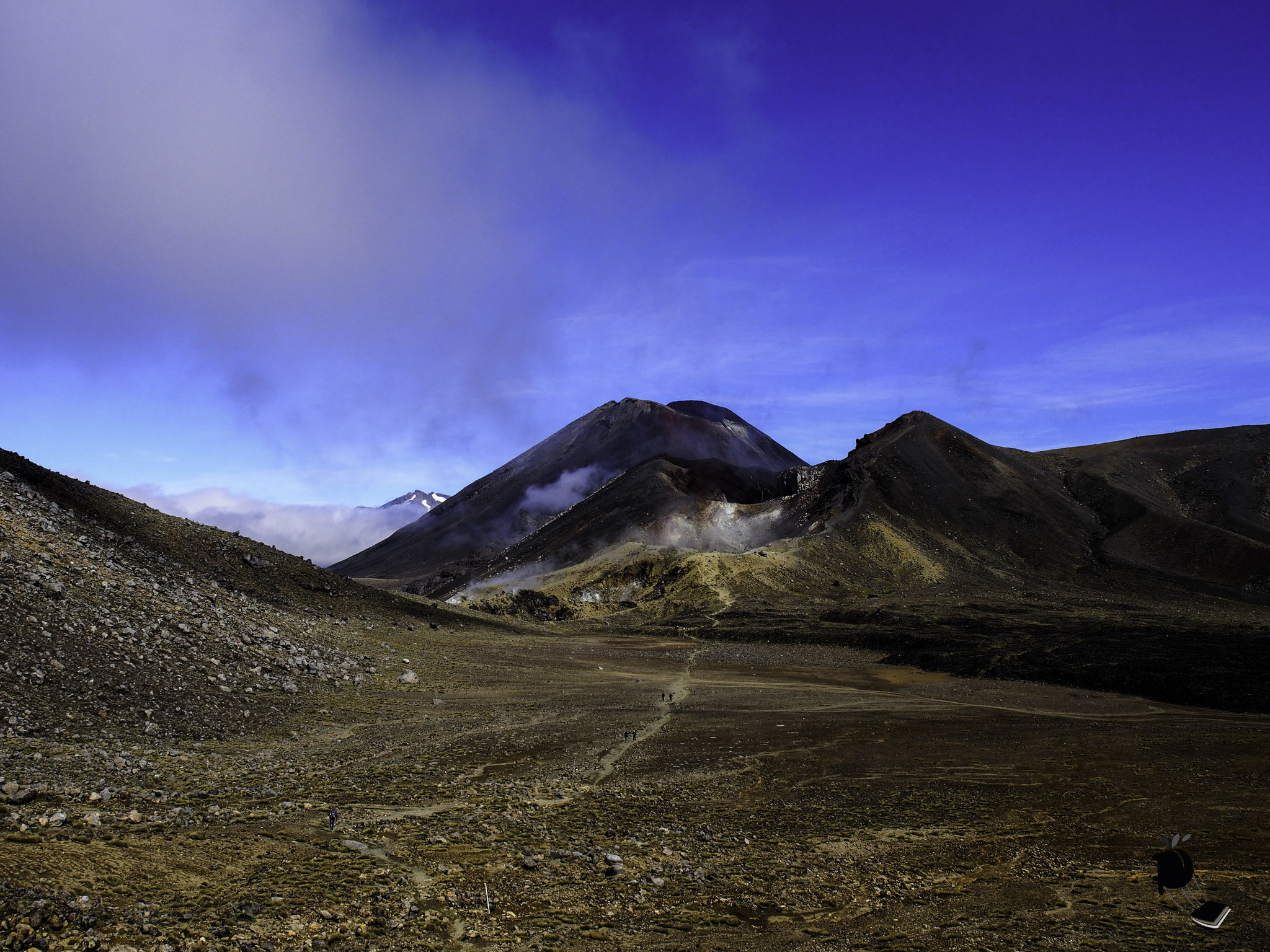 La Tongariro Alpine crossing