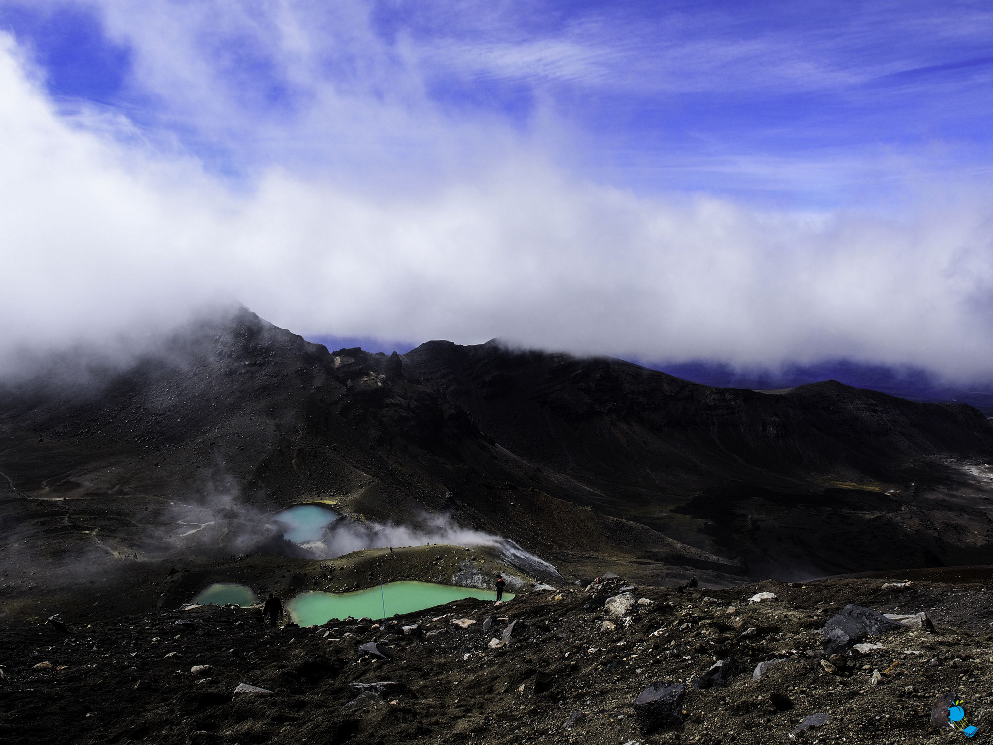 Emerald Lake au Mont Tongariro