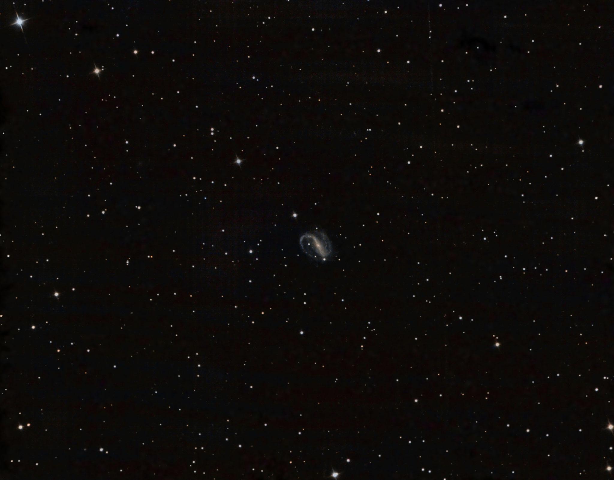 NGC7479, L (12x900), Ha (12x900), RGB (6x300), 15 octobre 2016, Lionel