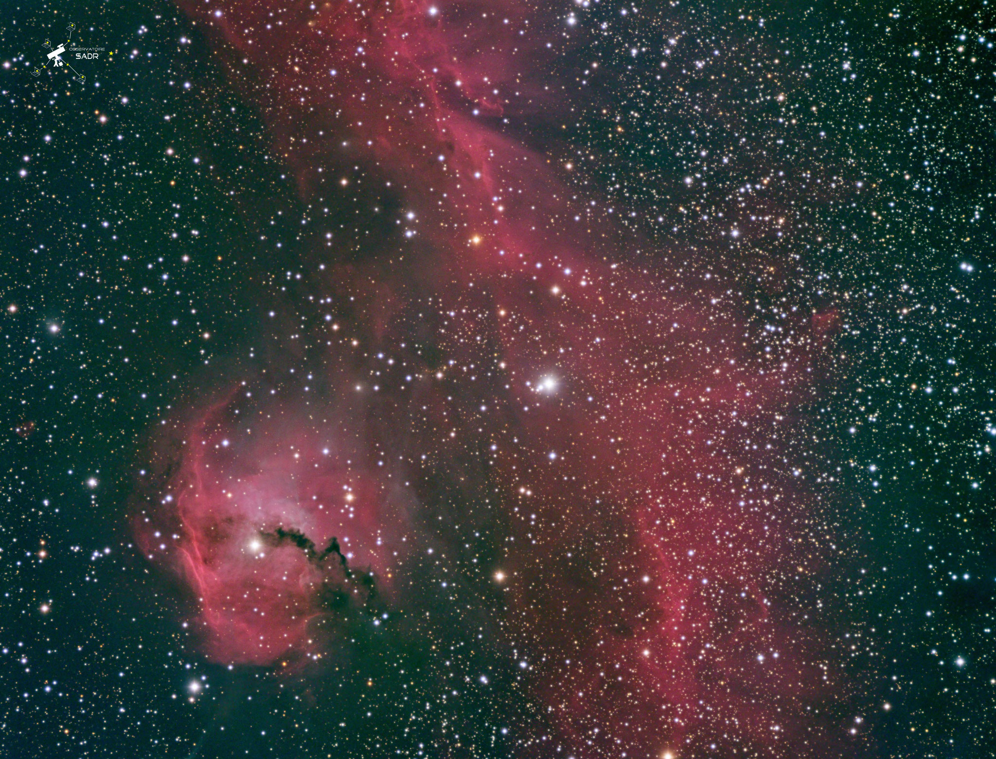 IC2177, LRVB, poses individuelles ) 5 min, total de 6h 50, lunette 127mm, team SLDF, Sadr Chili