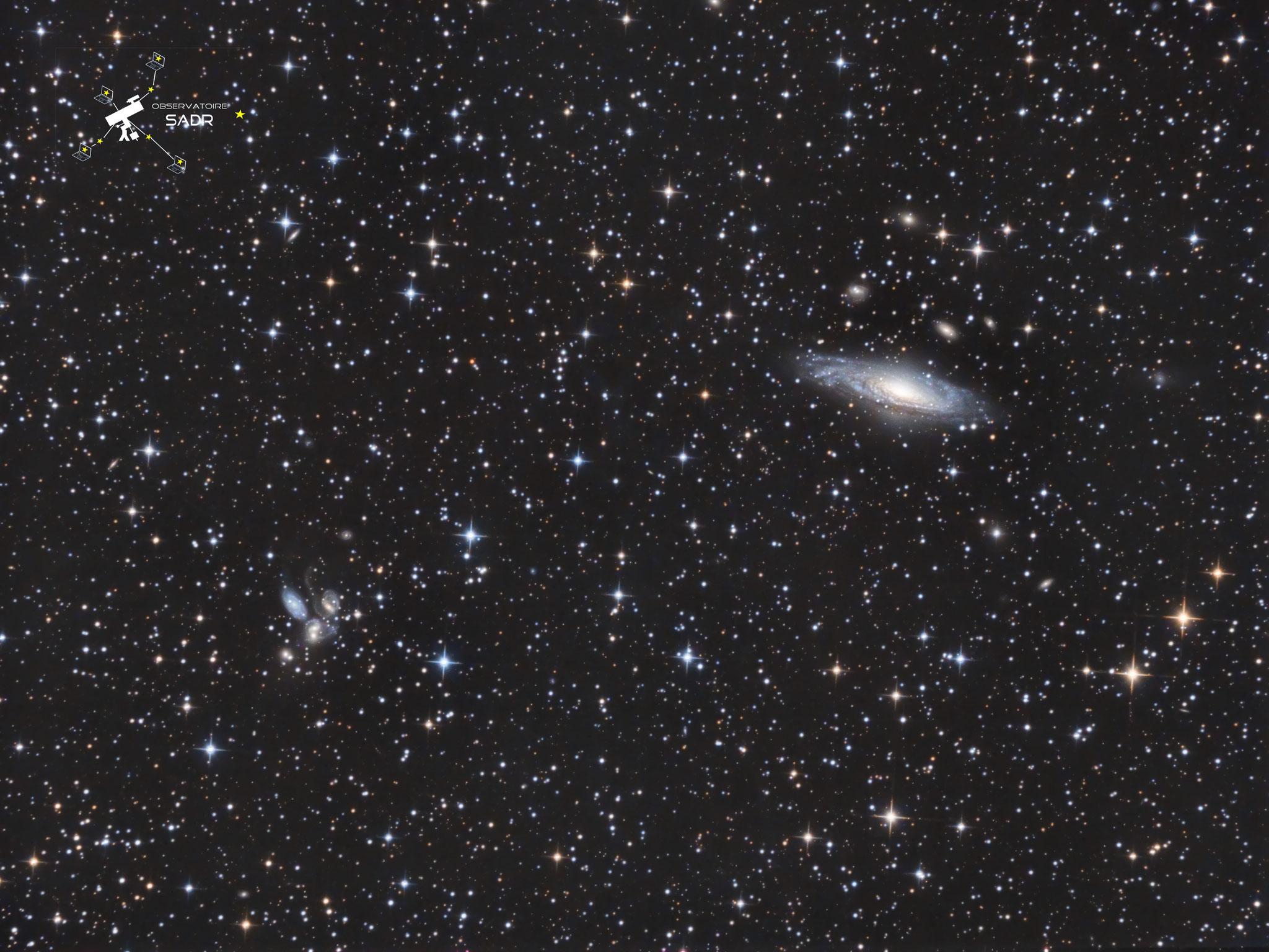 NGC7331, 40x300s, août 2017