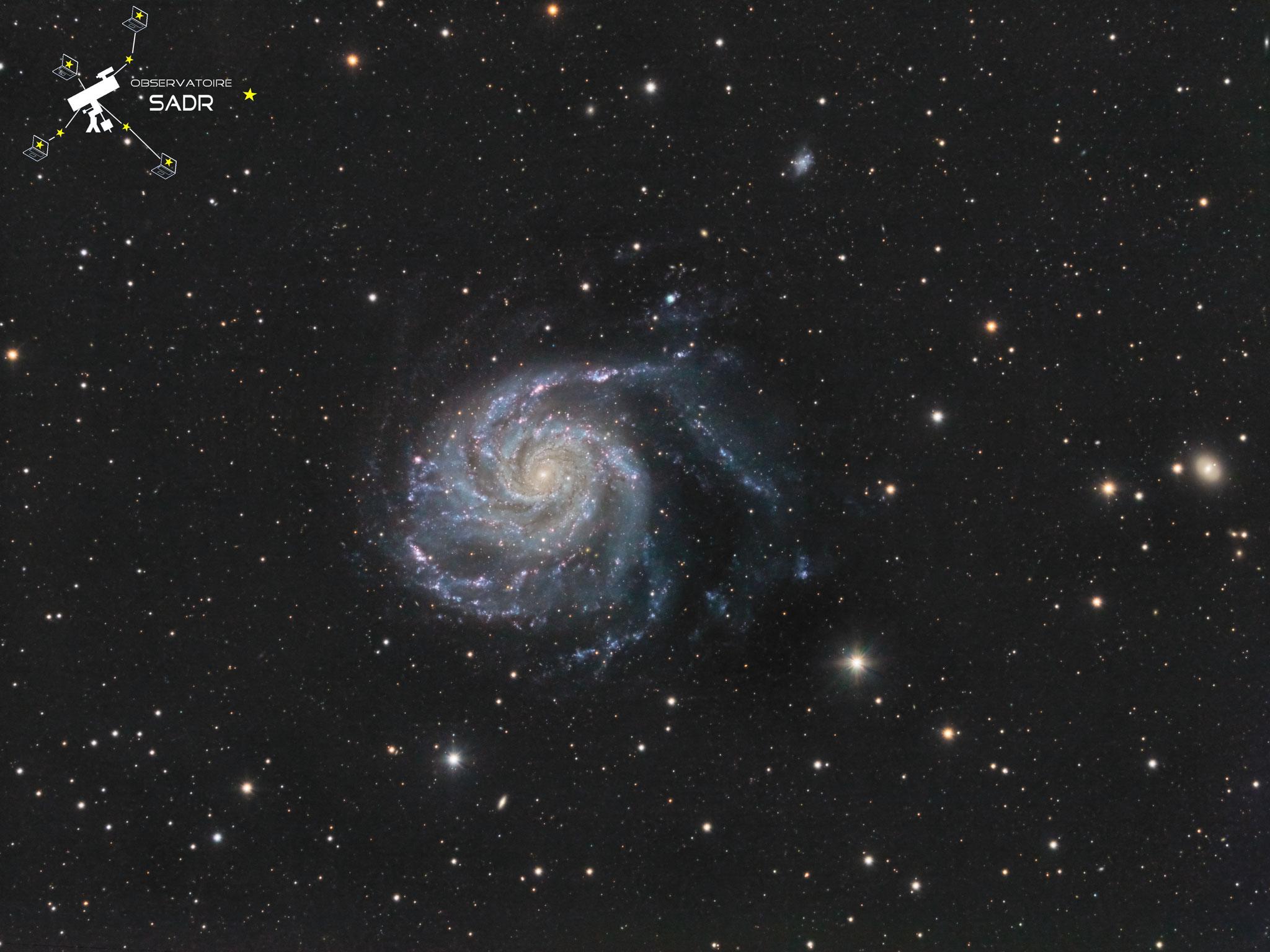 M101, L120, Sadr Espagne