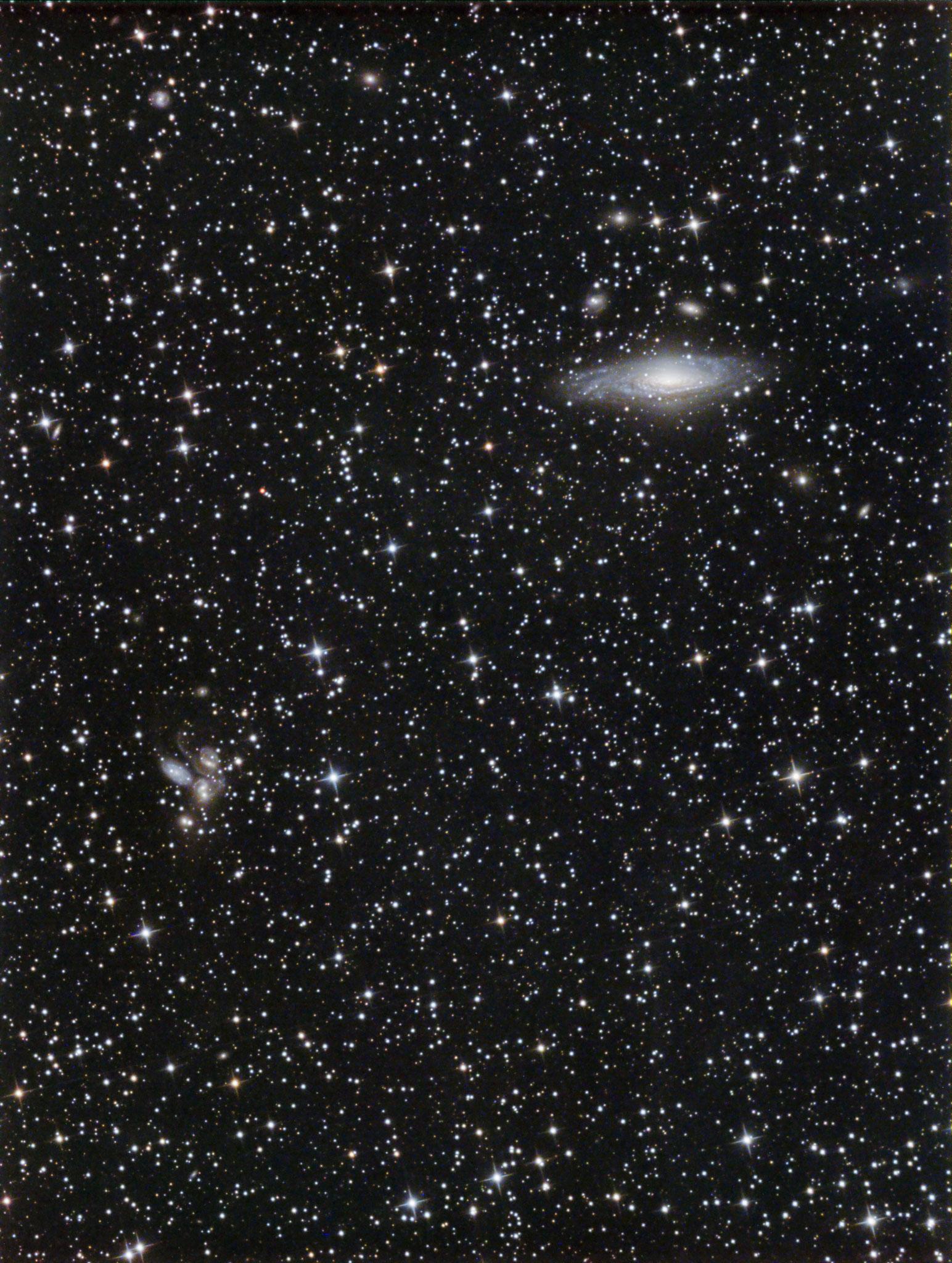 NGC7331 et le Quintette de Stephan, L (12x5min bin1) RVB (5x3min bin2), David et Lionel, 28 août 2016