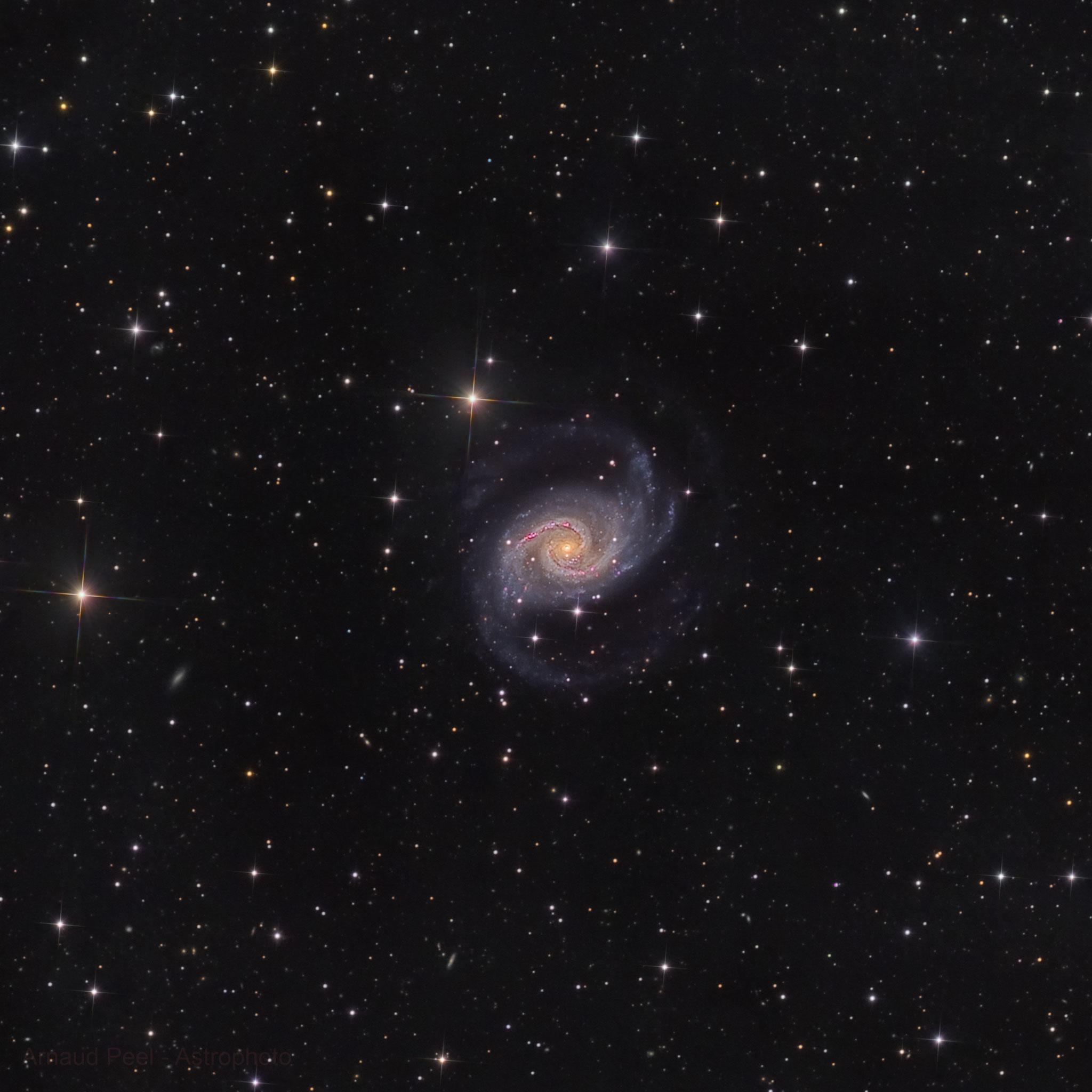NGC 1566, HaLRVB, T355, Sadr Chili, Arnaud