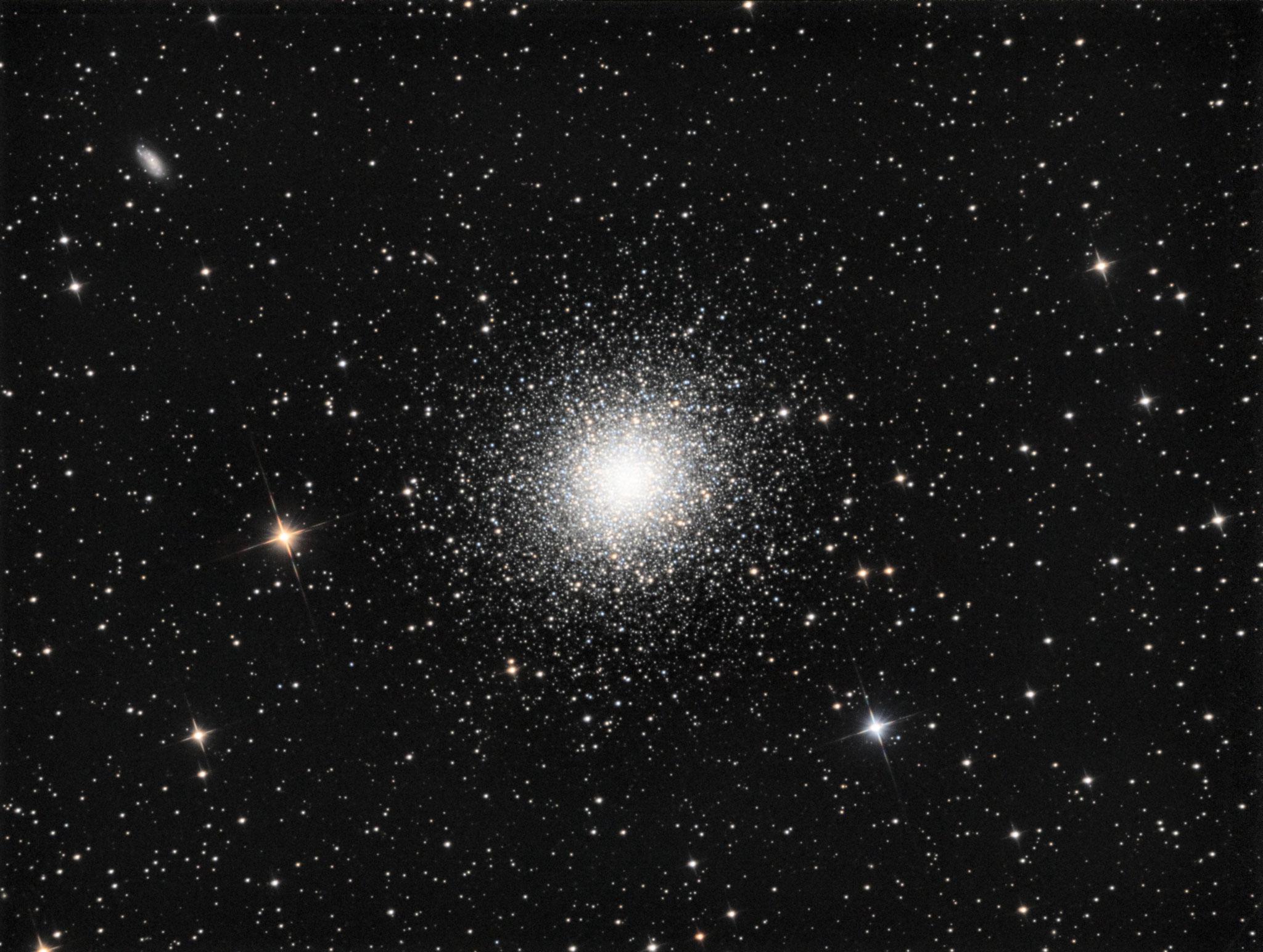 M13, Lum (20x 180s bin1),RVB (10x180s bin1 chaque filtre), 21 septembre 2016, Gilles