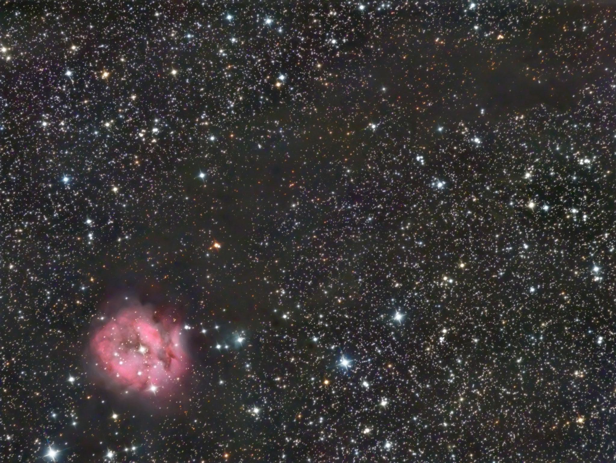 NGC5146, la nébuleuse du Cocon, décembre 2016, Fabien