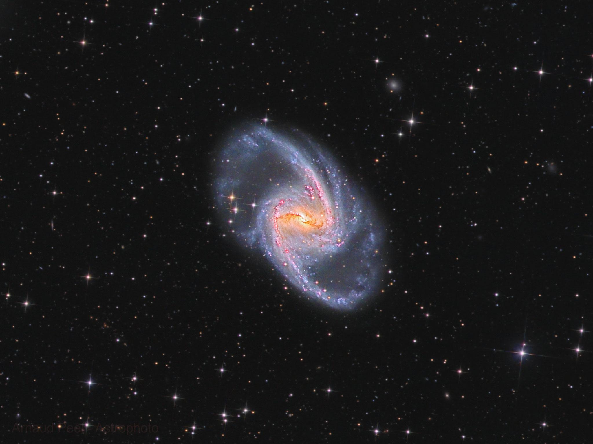NGC1365, L(208x300) RVB(26, 40, 31 x 300), T355, Sadr Chili, Arnaud