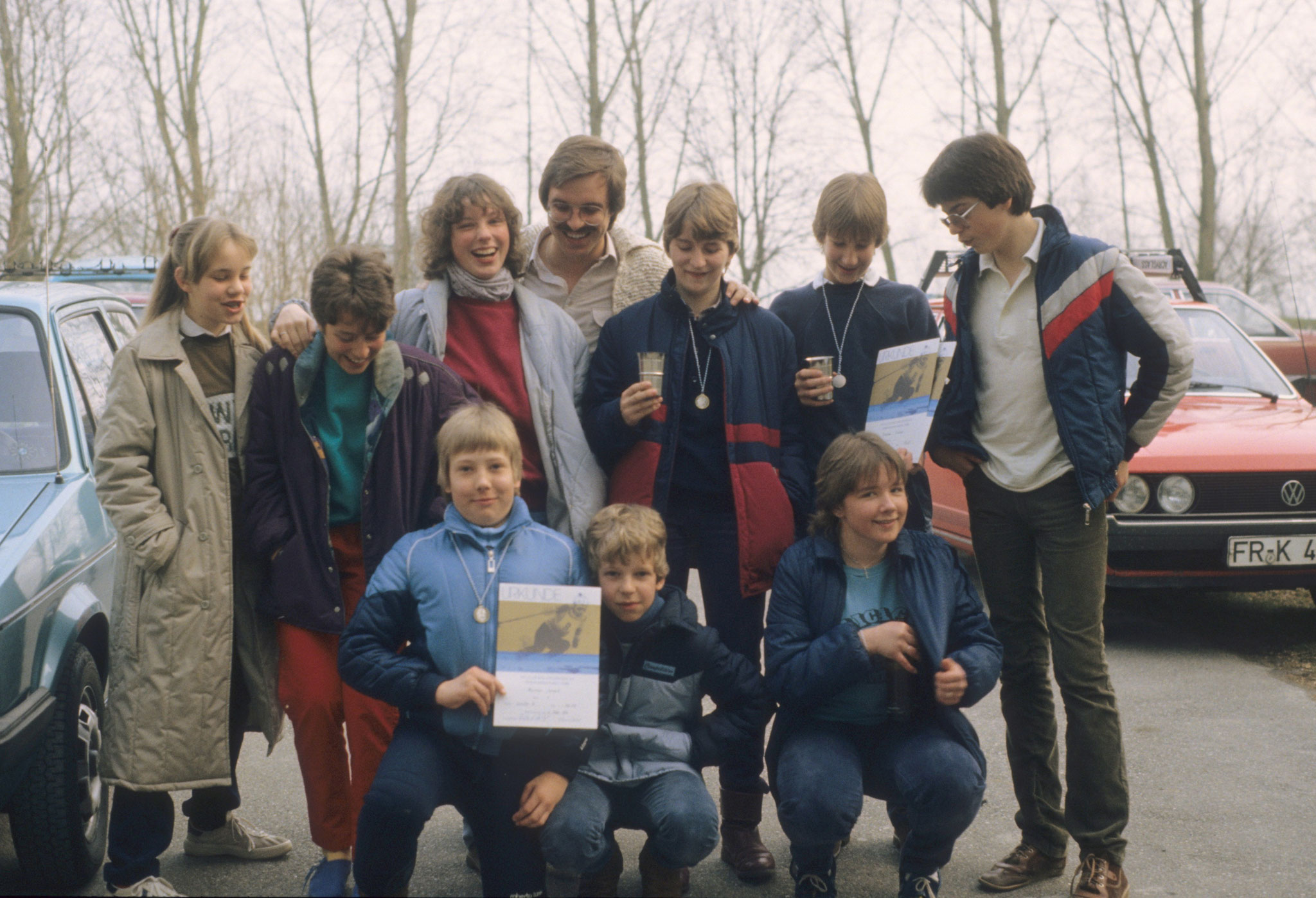 Siegerehrung 1983