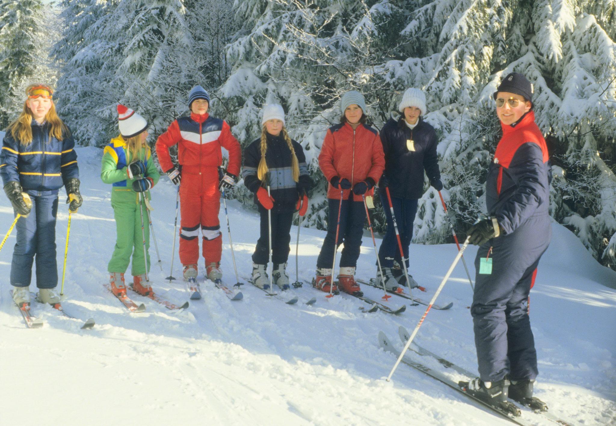 Skikurs 1984
