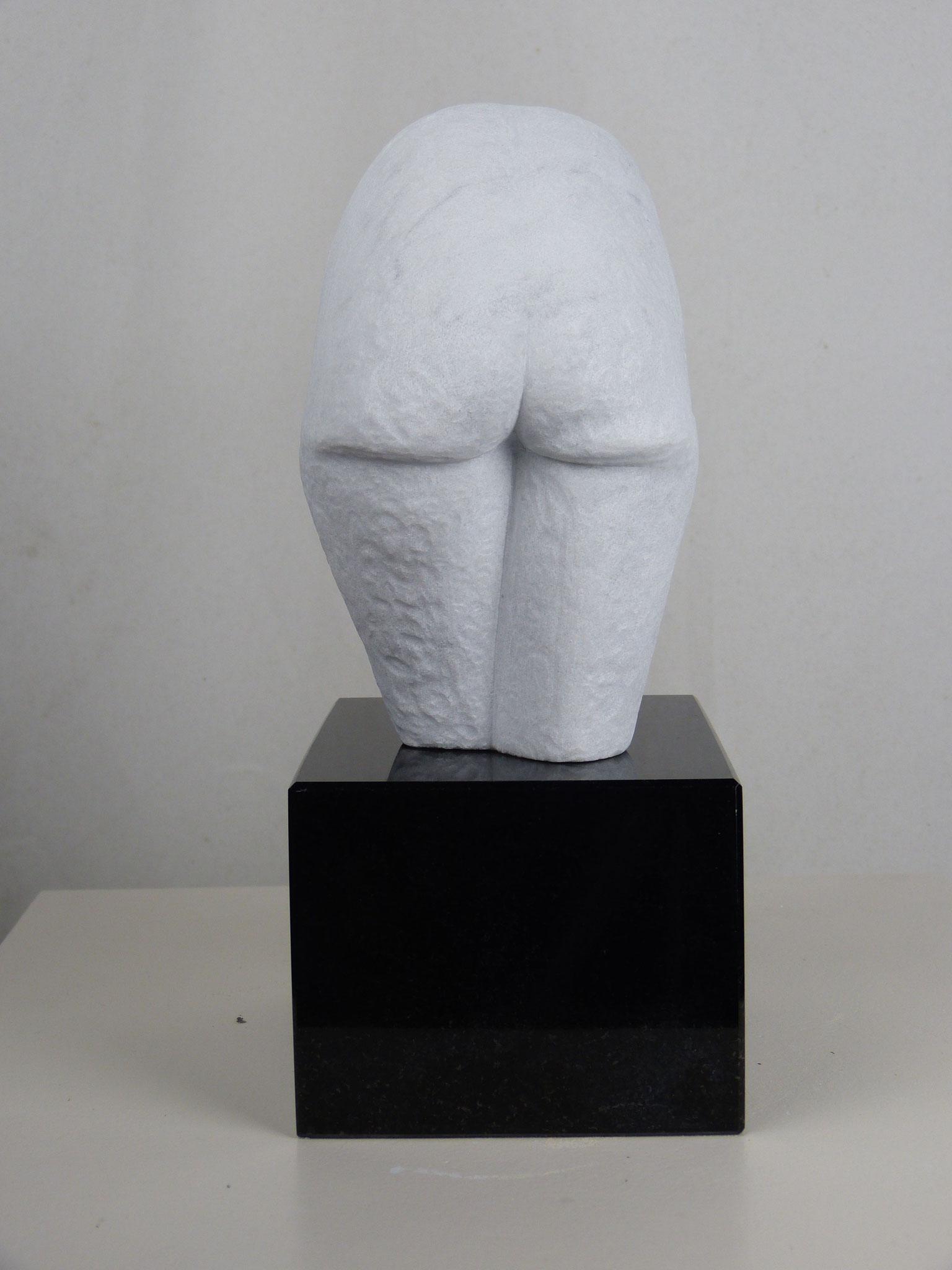 """Carrara Marmor """" Arsch mit......."""