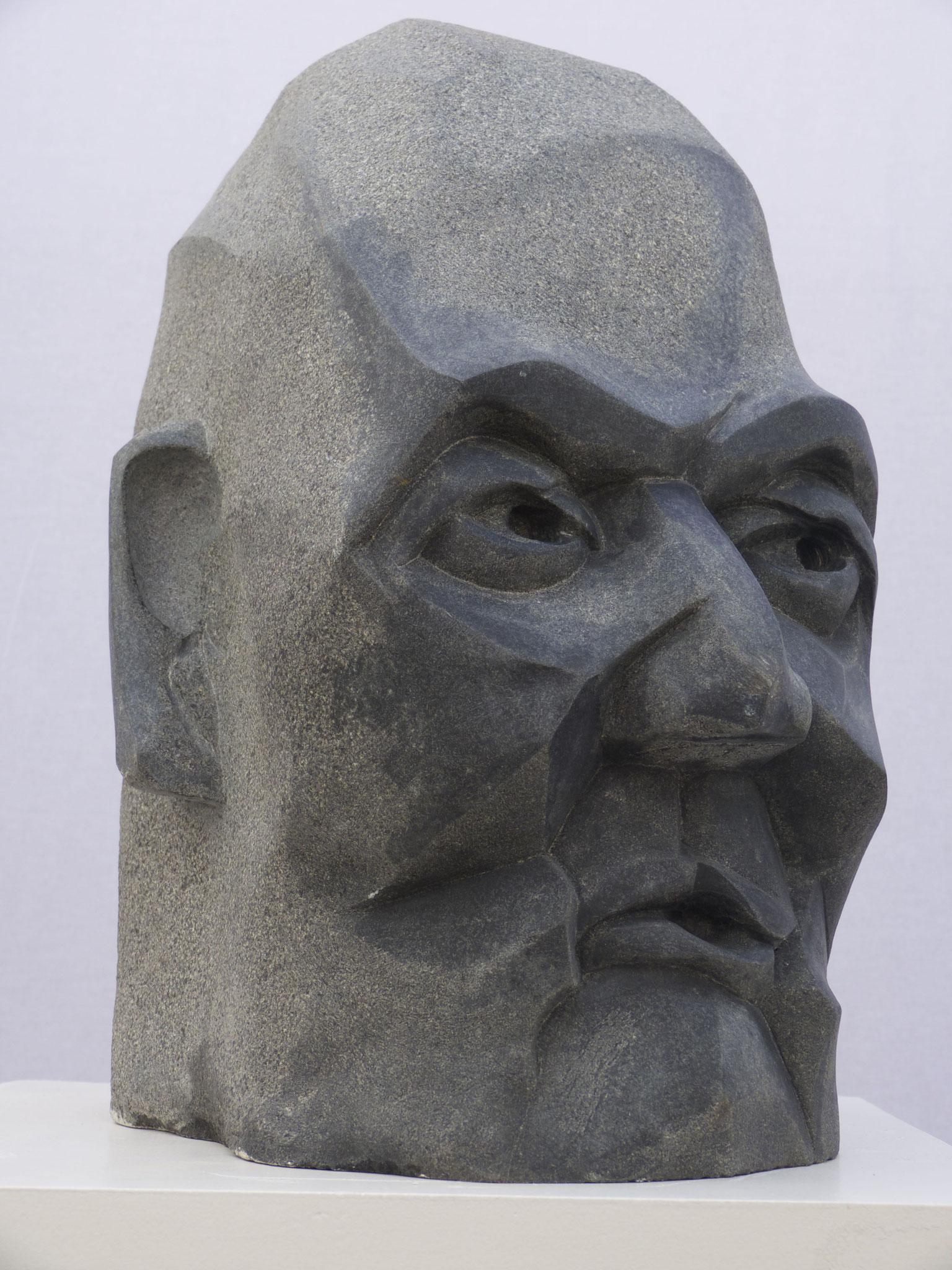 """Indischer Granit, """"Helmuth mit th""""  verkauft"""