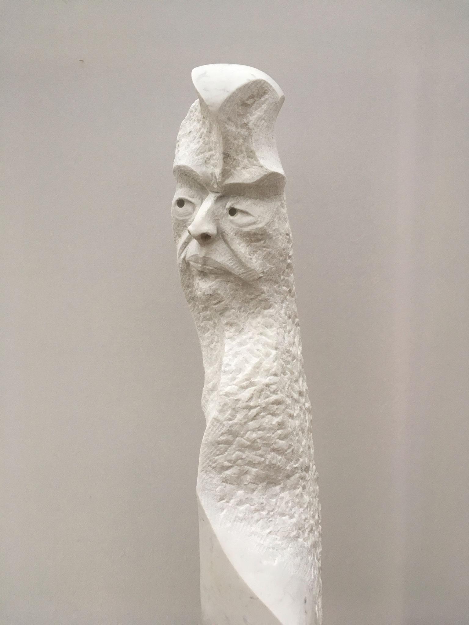 "Carrara Marmor,  ""Skepsis""       2.250.-€"