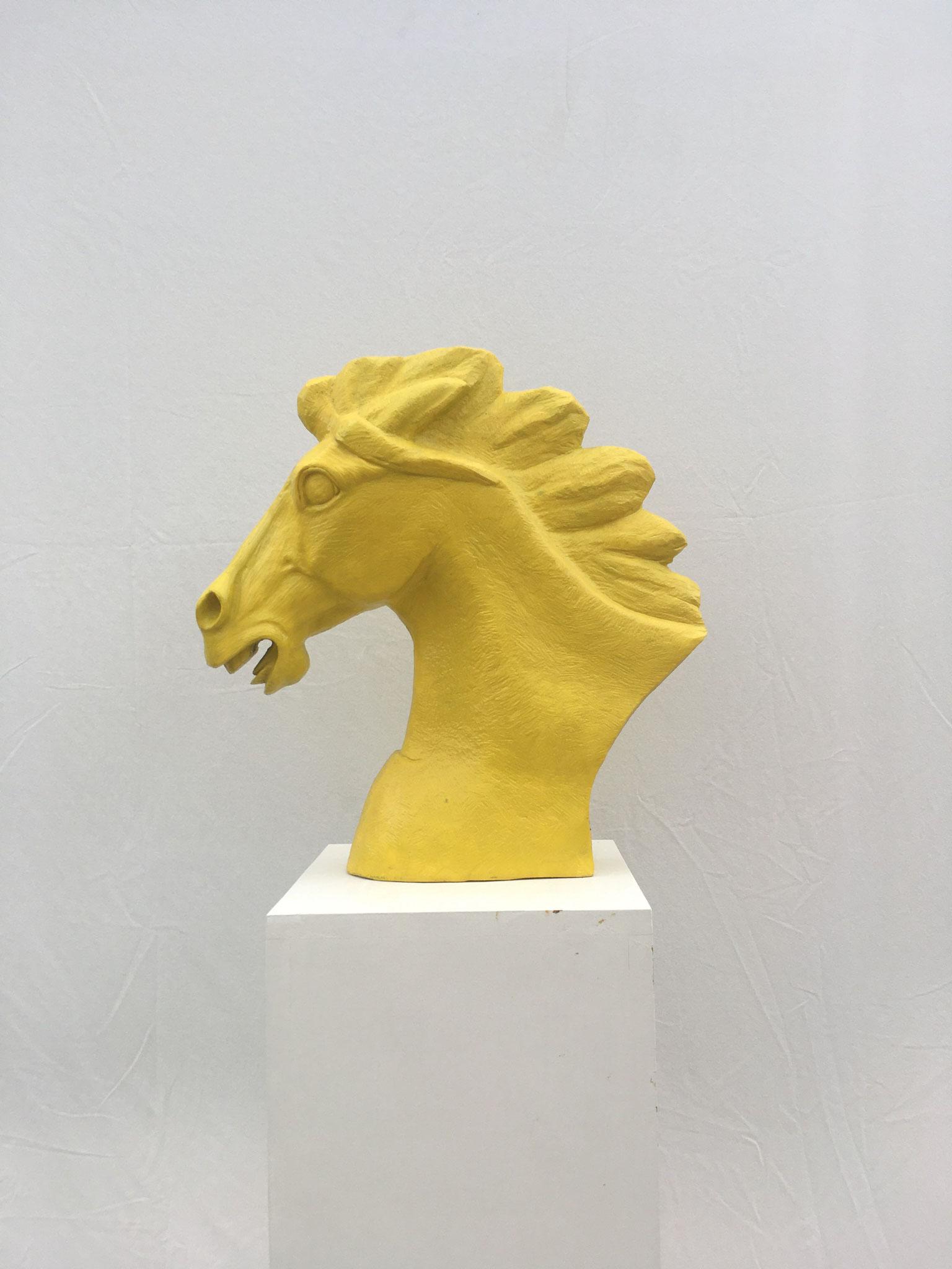"Weisser Marmor China ""Pferdekopf gelb""       650.- €"