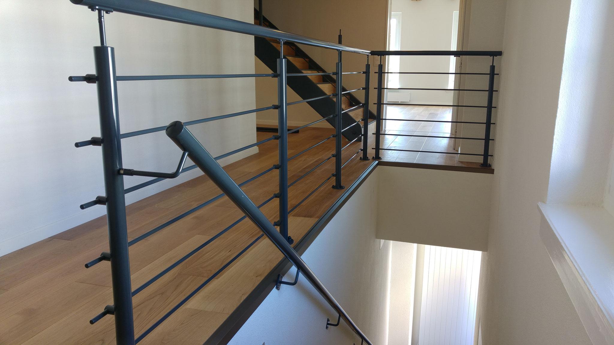 Innen Treppen Geländer